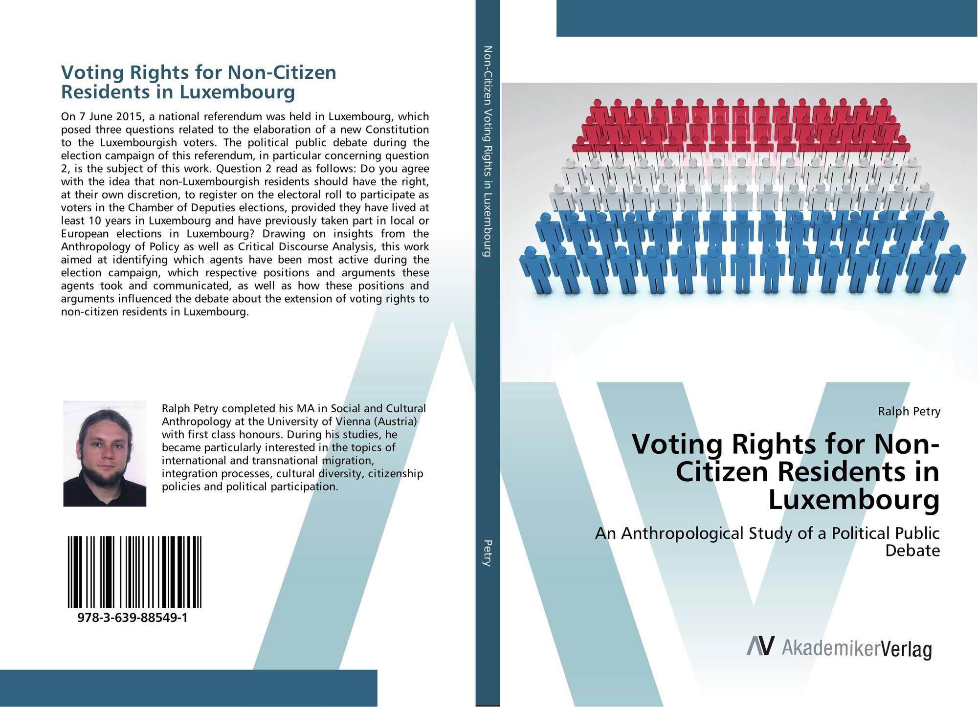 Voting rights for non citizen residents in luxembourg 978 3 639 88549 1 363988549x - Bureau des non residents luxembourg ...