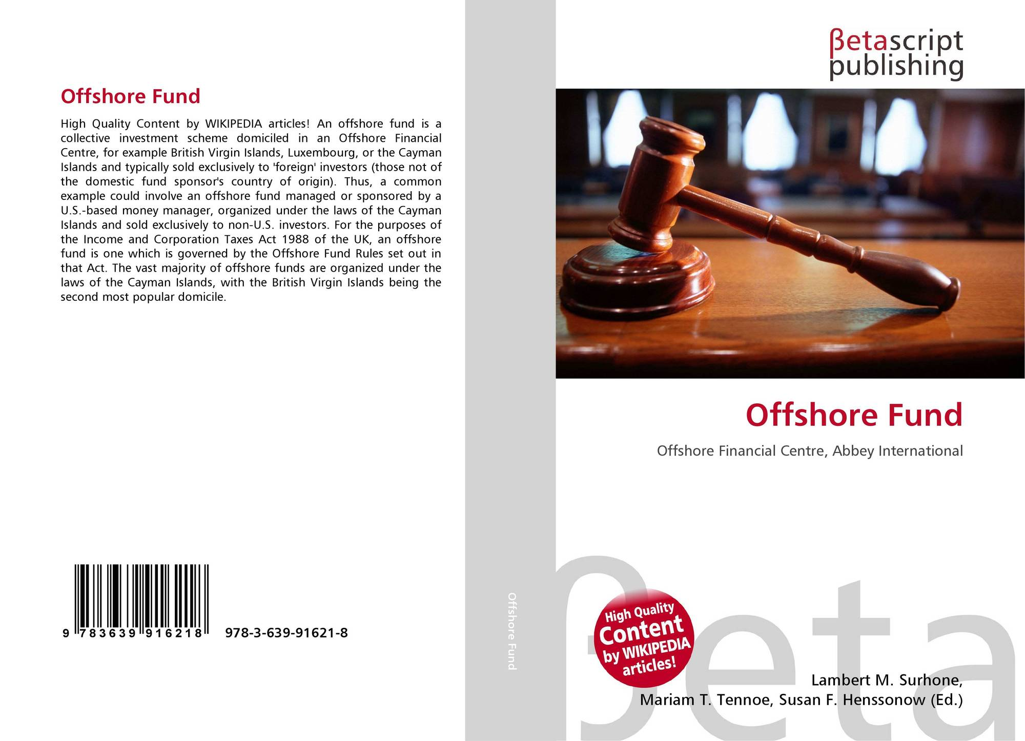 Bookcover of Offshore Fund