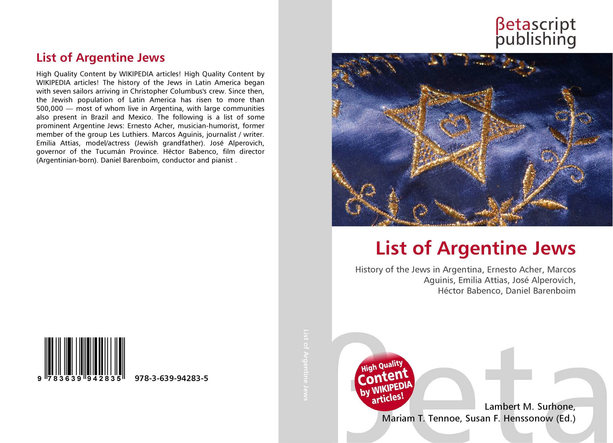 a history of the jewish community of argentina