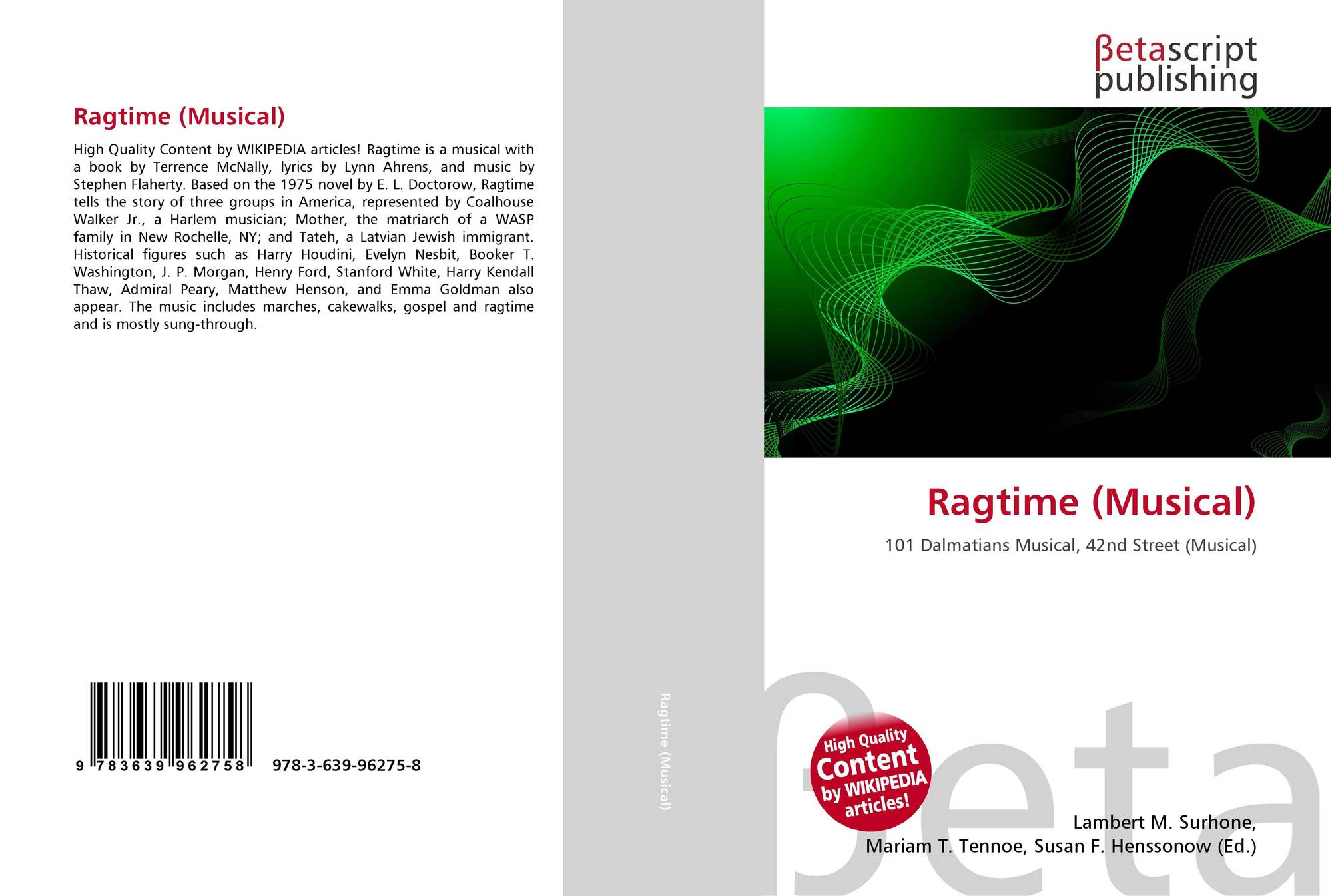 stylistic analisis ragtime