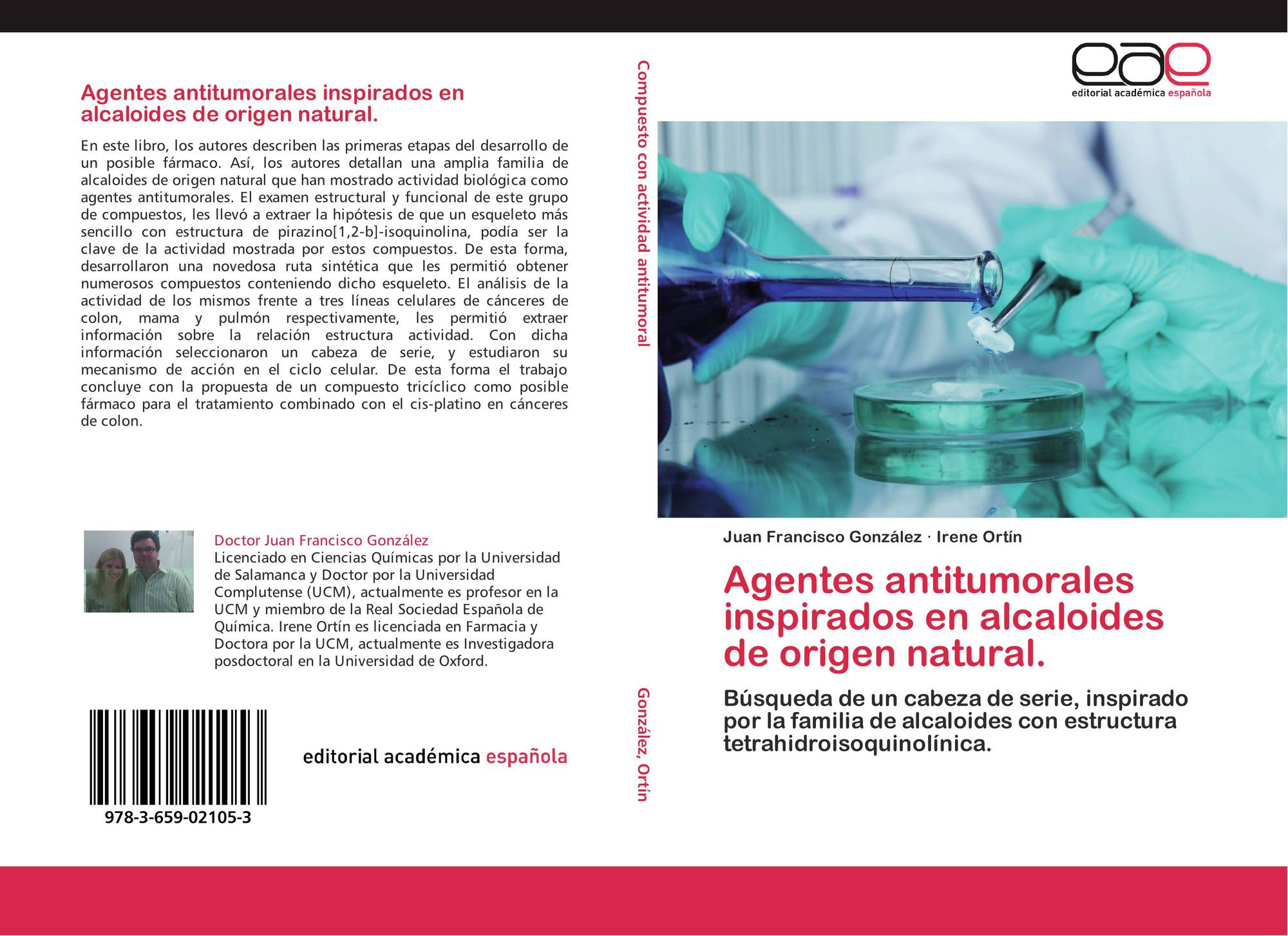 Agentes Antitumorales Inspirados En Alcaloides De Origen