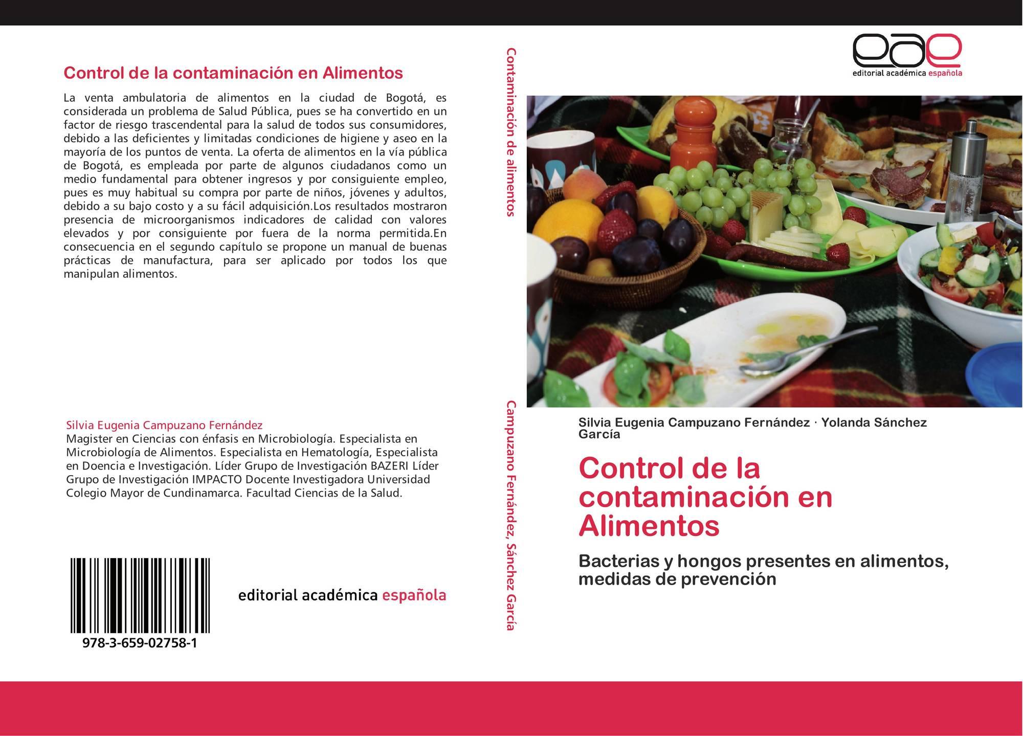 Control de la contaminación en Alimentos, 978-3-659-02758-1 ...