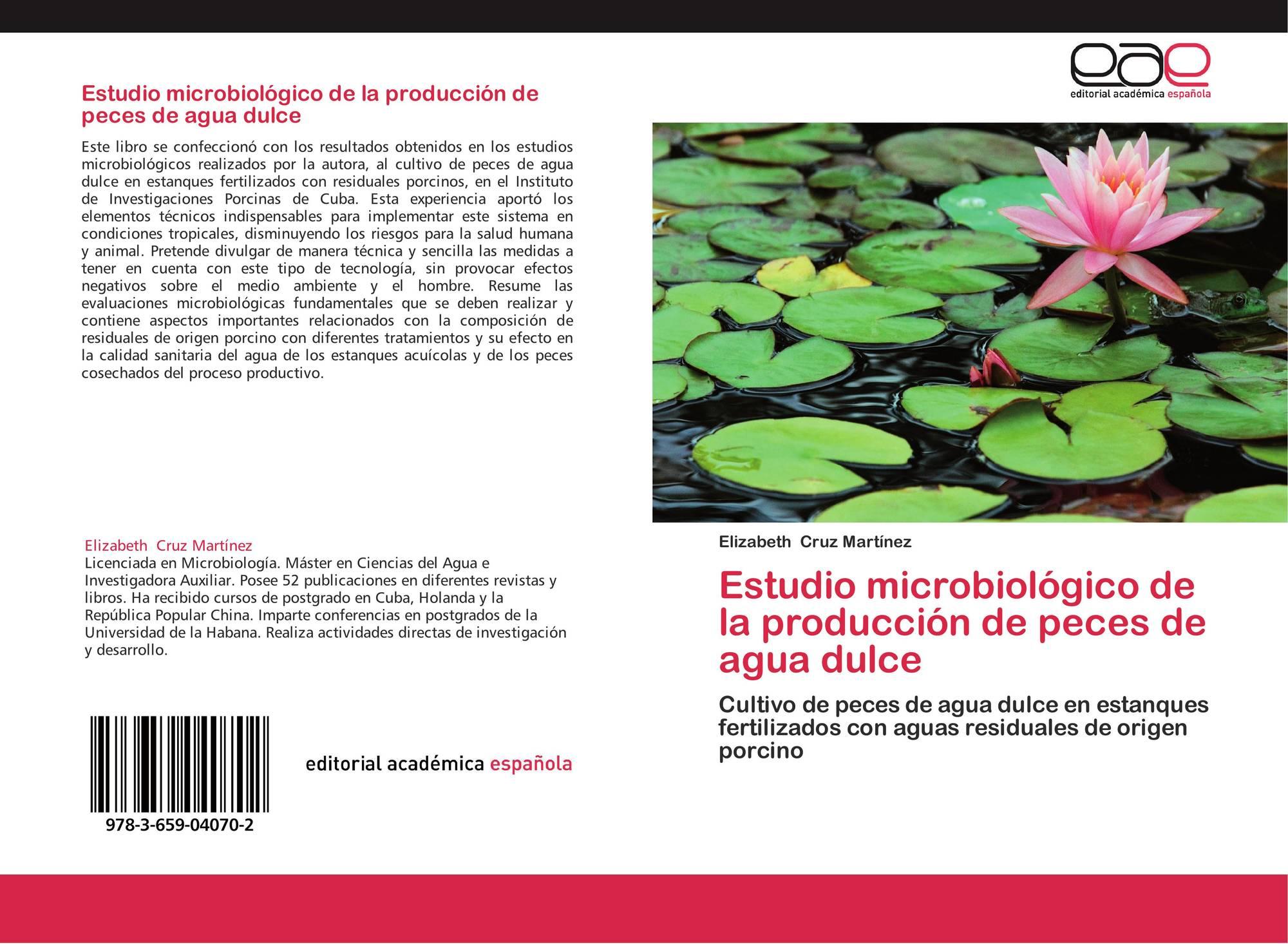 Estudio microbiol gico de la producci n de peces de agua for Produccion de peces en estanques