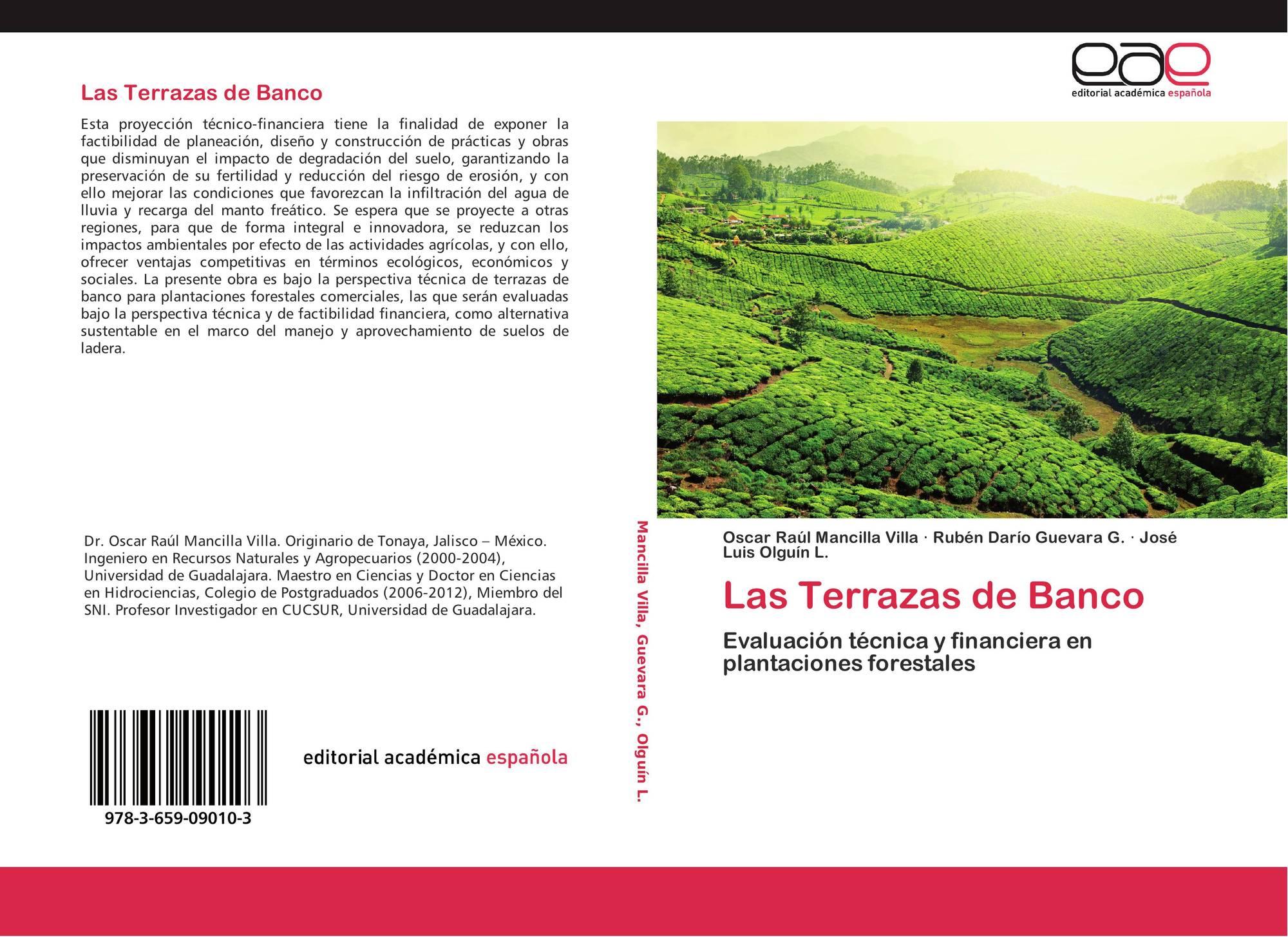 Las Terrazas De Banco 978 3 659 09010 3 3659090107