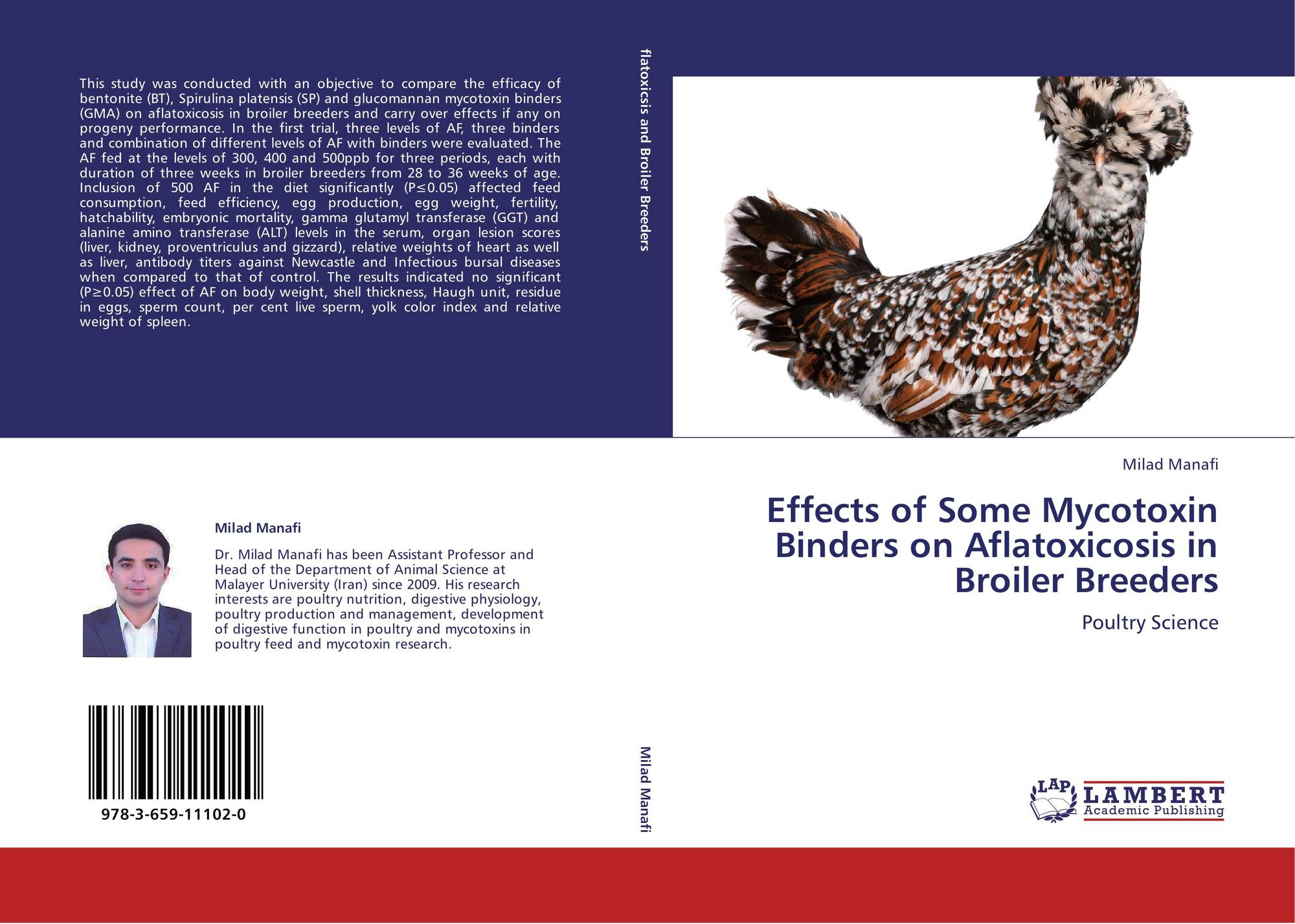 Effects of Some Mycotoxin Binders on Aflatoxicosis in Broiler