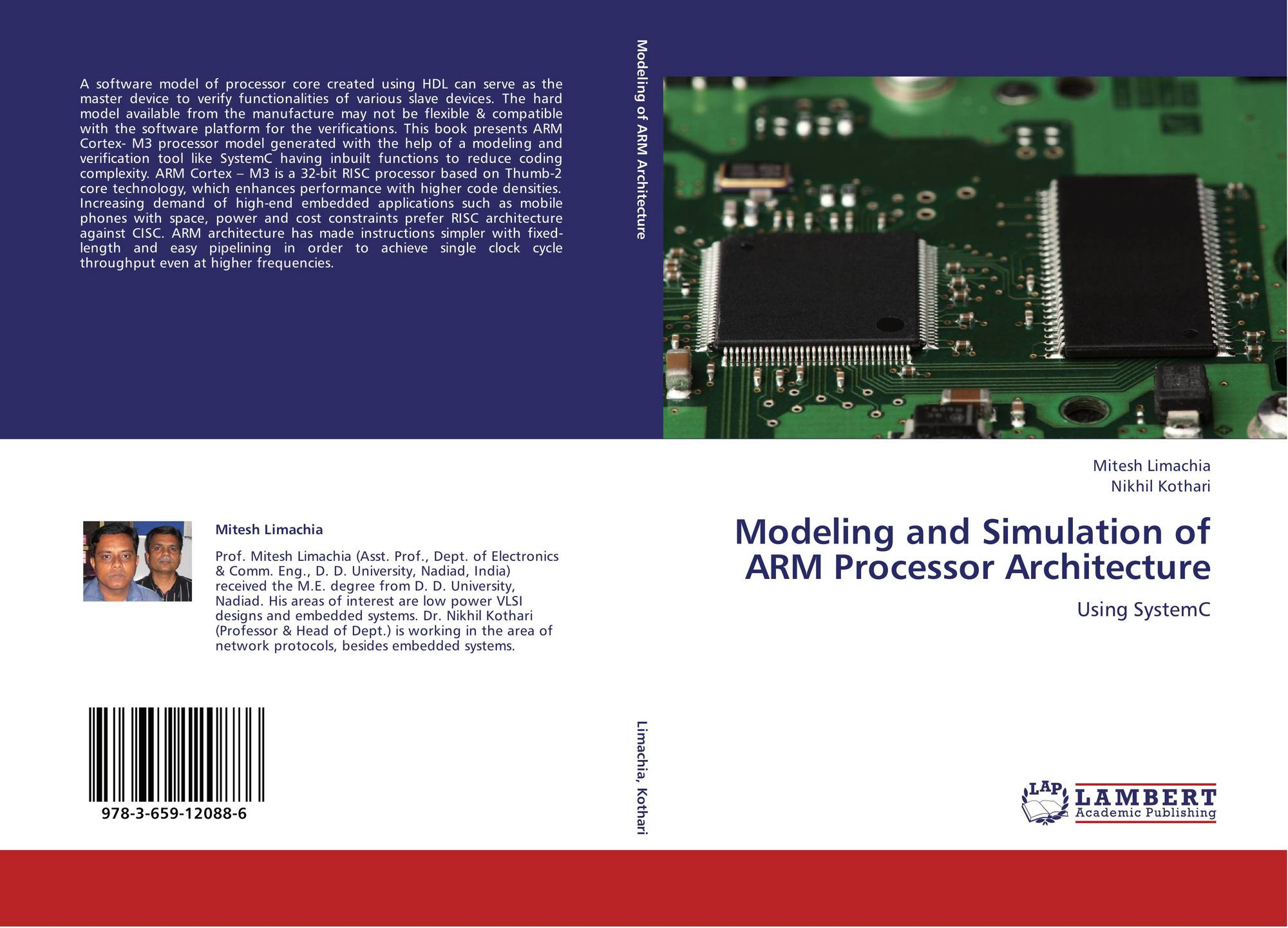 Bookcover Of Modeling And Simulation Of ARM Processor Architecture. Omni  Badge 9307e2201e5f762643a64561af3456be64a87707602f96b92ef18a9bbcada116