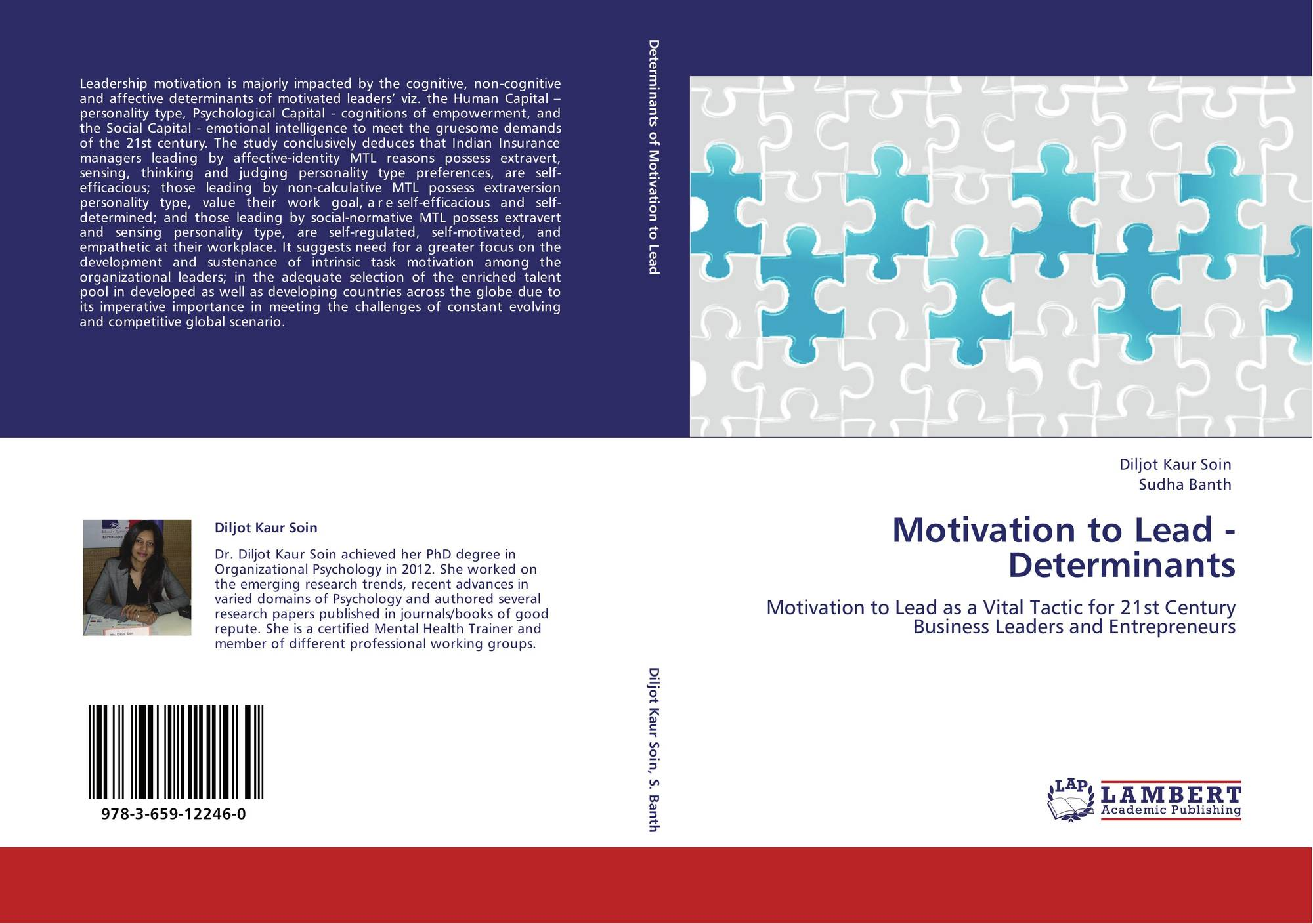 search results for motivation to become a doctor bookcover of motivation to lead determinants