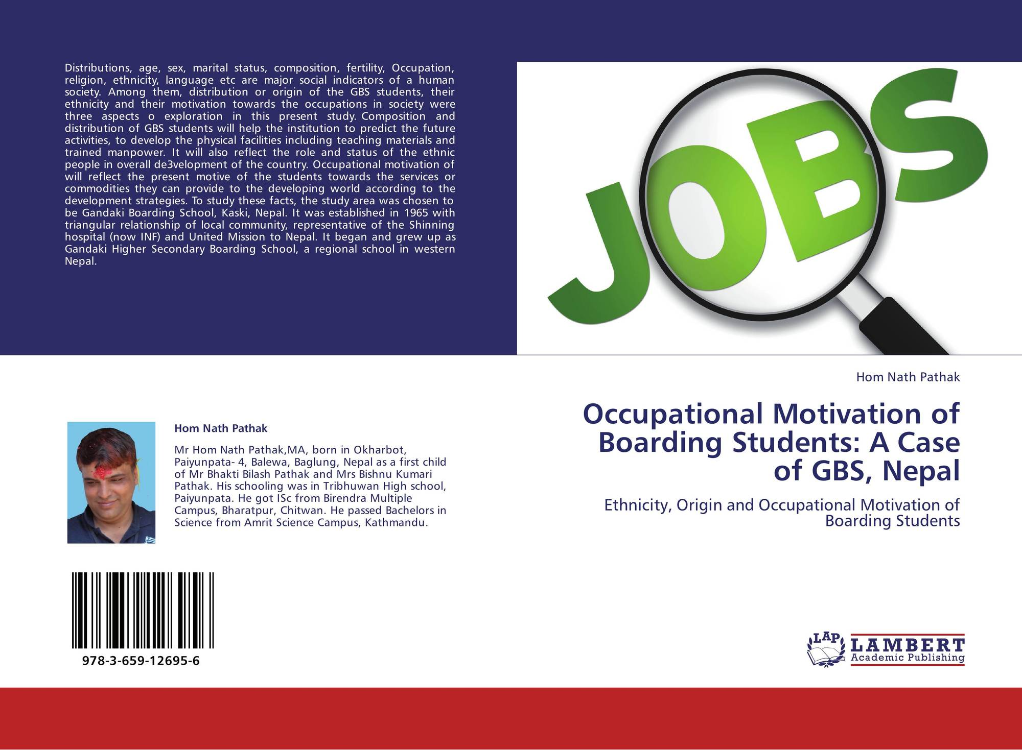 search results for motivation to become a doctor bookcover of occupational motivation of boarding students a case of gbs