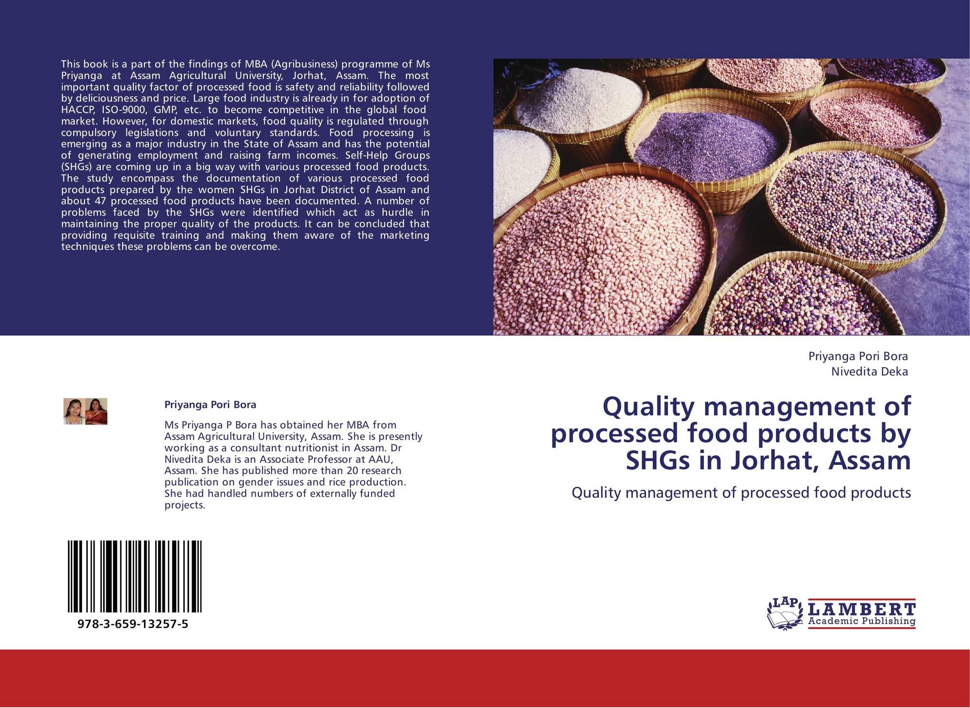 food quality management book pdf