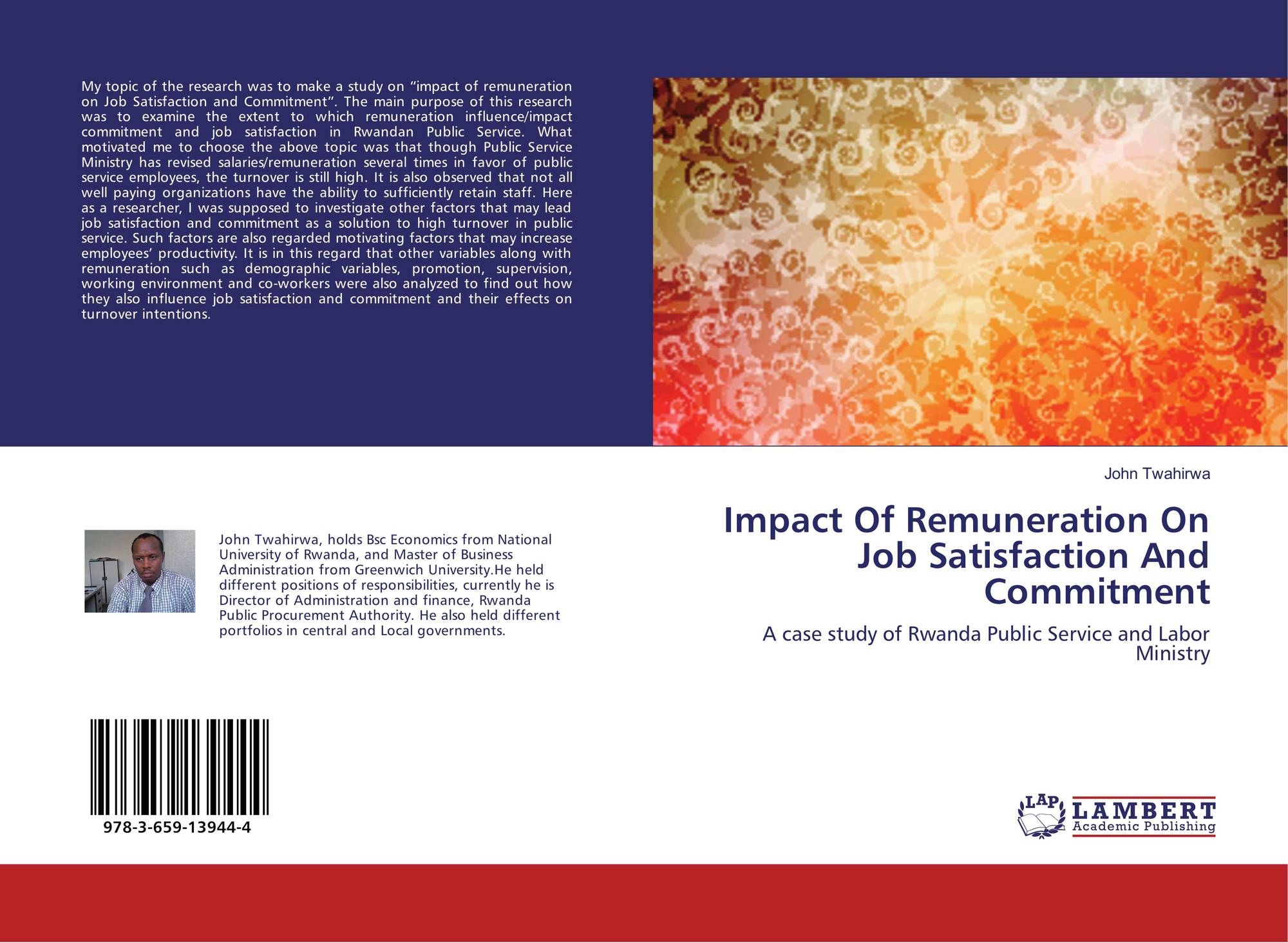 reward impacts on job satisfaction Job satisfaction is inclined by rewards and motivation of employees (spector1985)amabile et al (1994) also described that motivation is effected by reward which is correlated with job satisfaction.