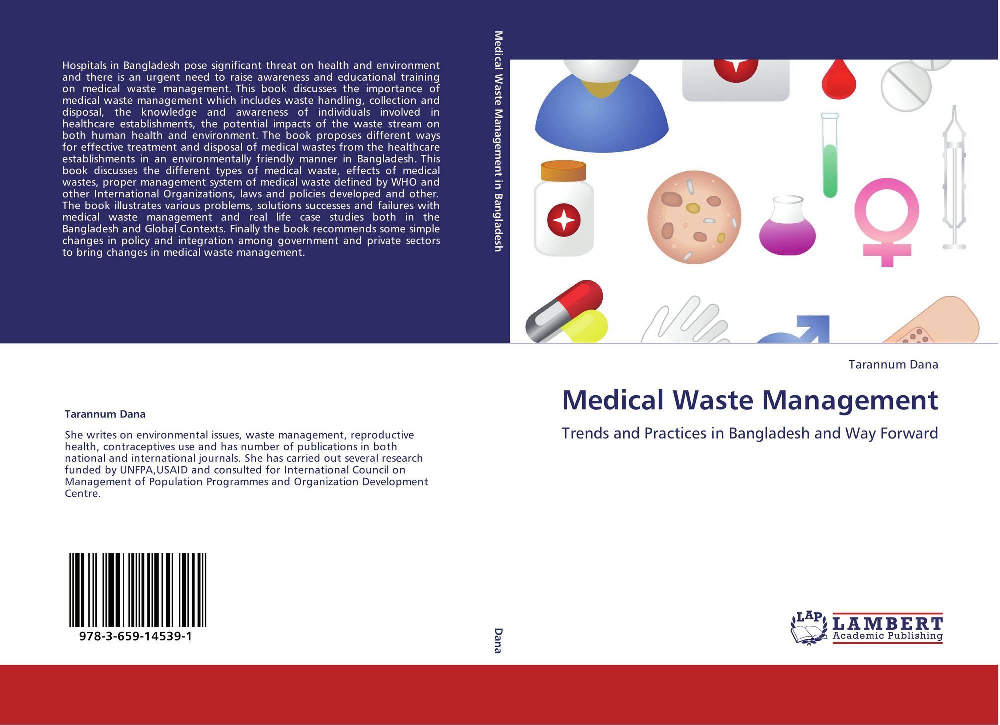 medical waste management Sample medical waste management plan  name of animal clinic or hospital  street address  city, state, zip  phone # medical waste management plan (a) types of waste generated.