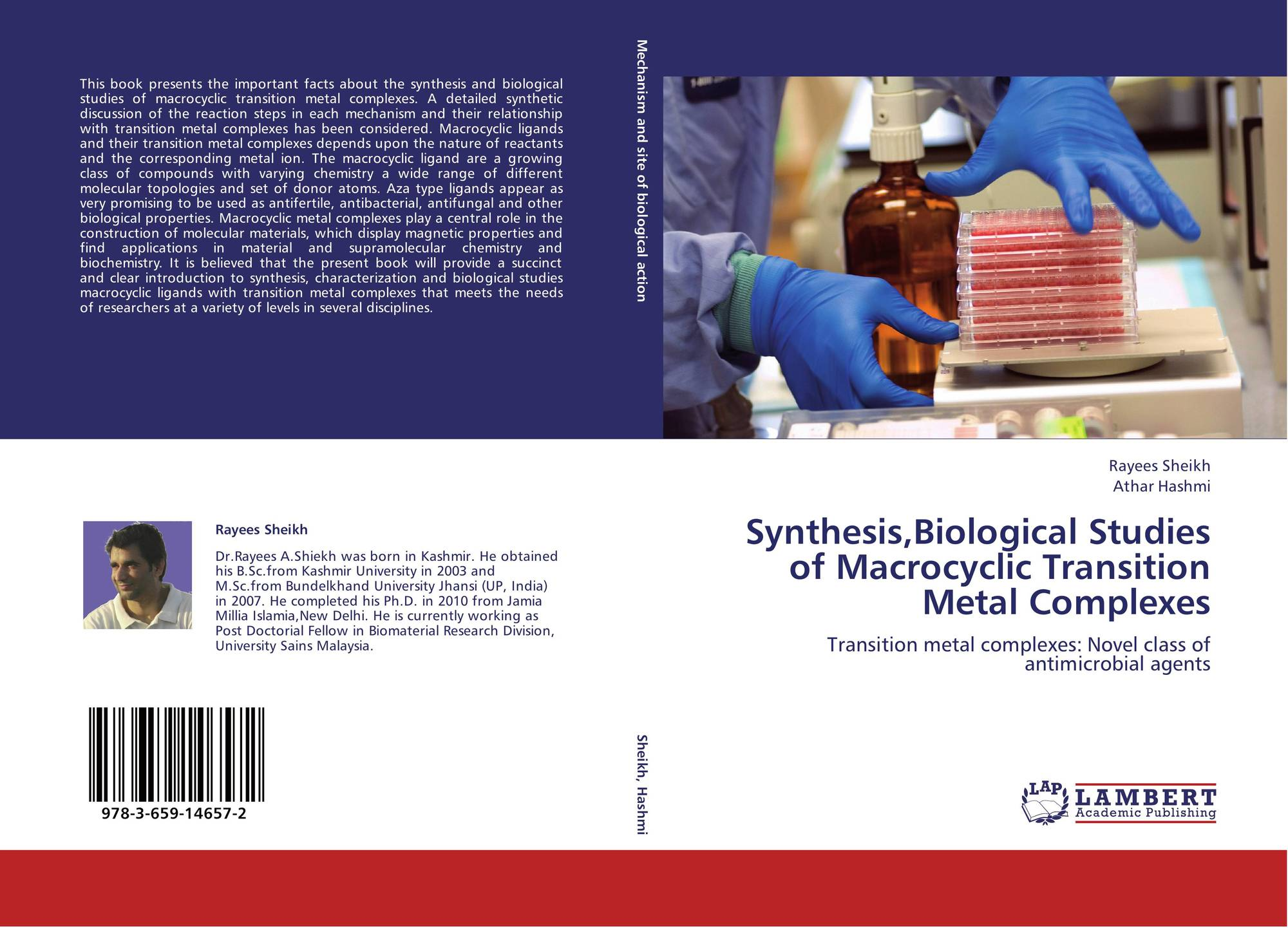 biological application of transition metals