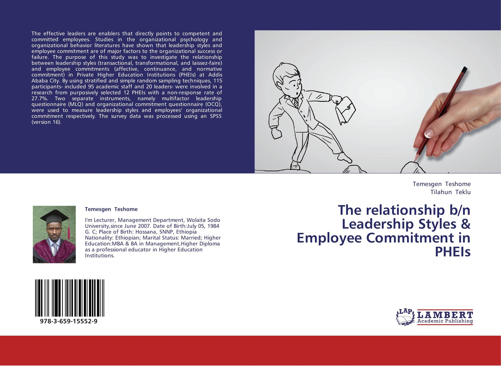 relation between leadership style employee
