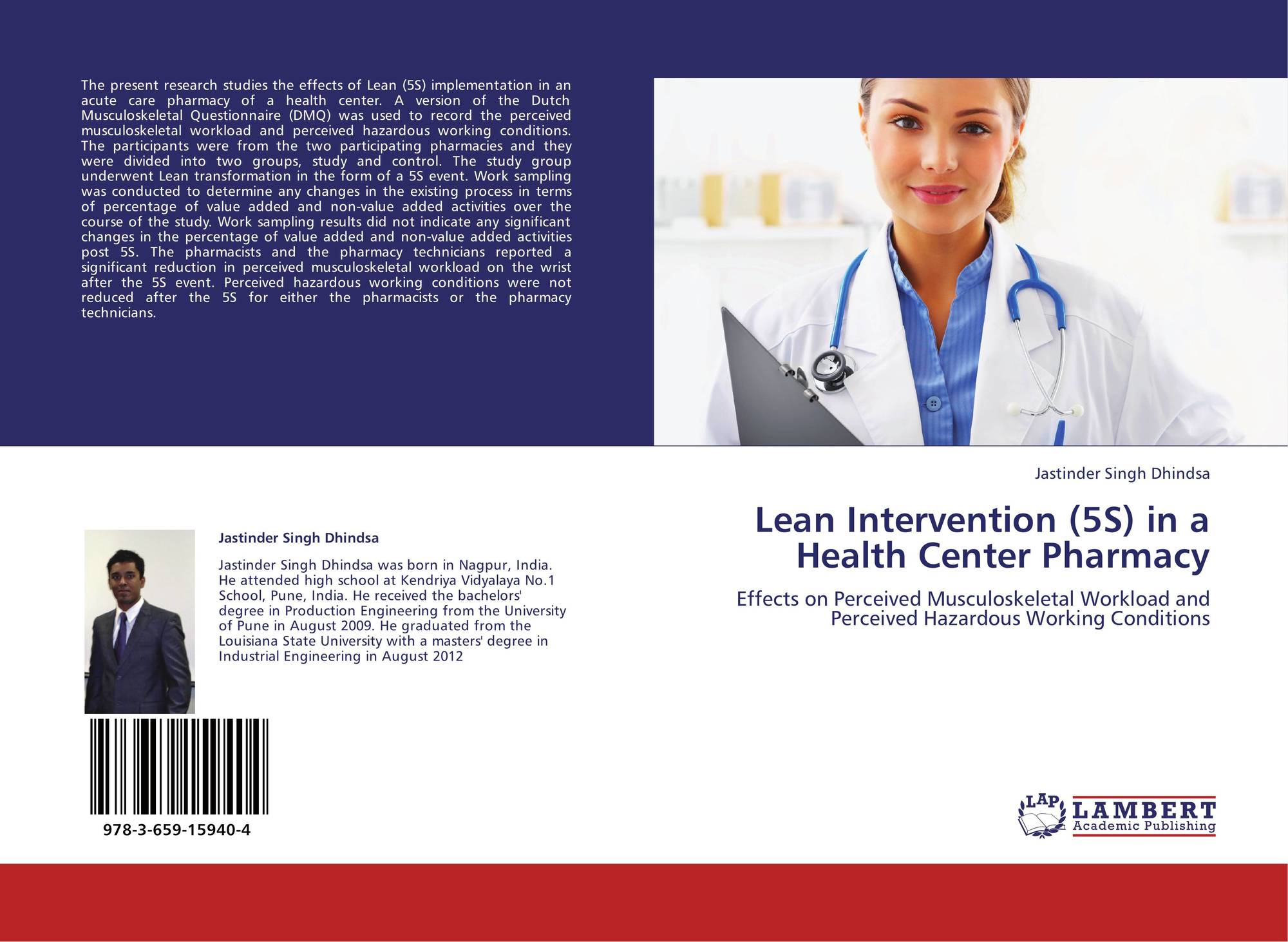 Lean Intervention (5S) in a Health Center Pharmacy, 978-3 ...