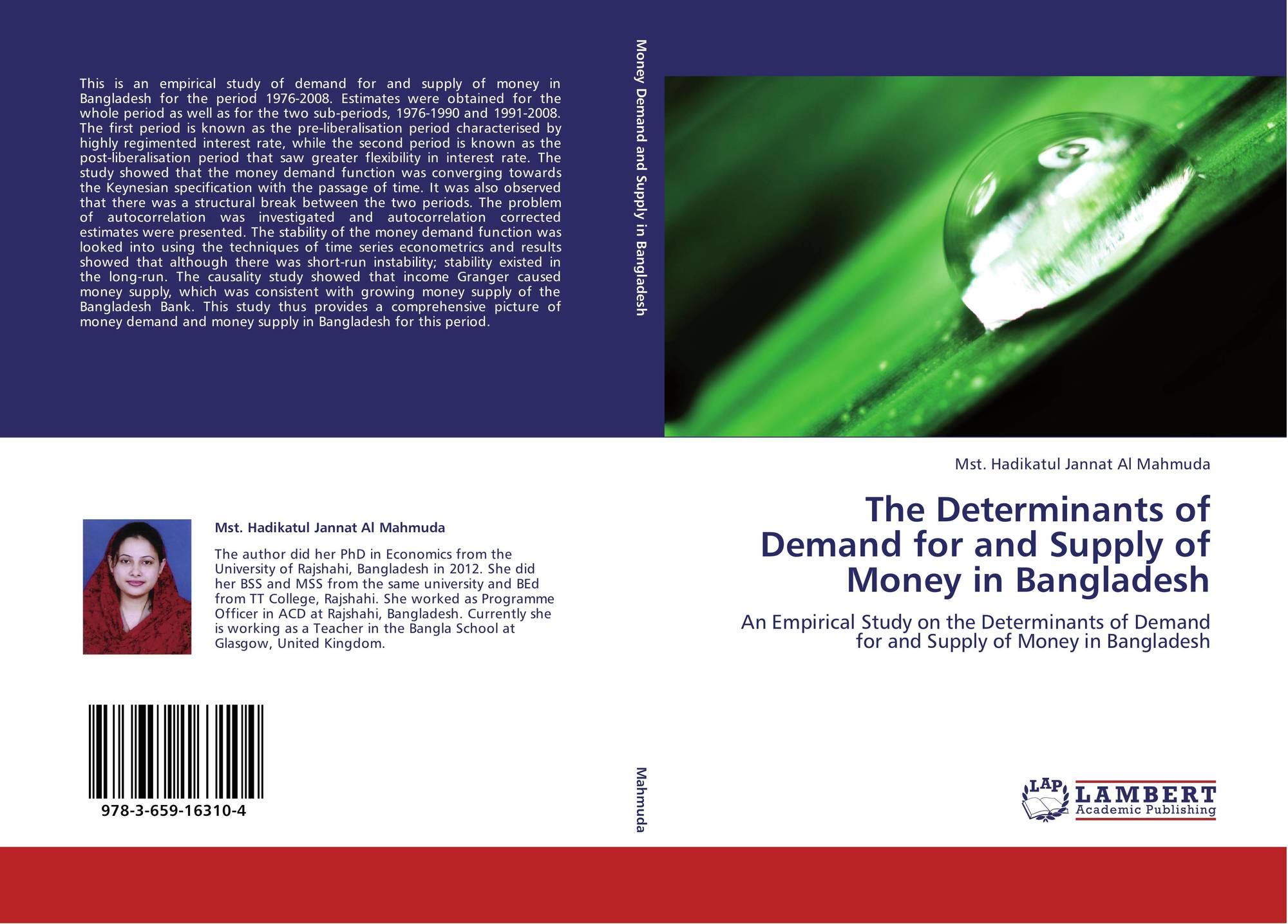 determinants of money demand in zimbabwe An empirical analysis of the determinants of private investment in zimbabwe wwwdynamicresearchjournalsorg 40 | page protection of property rights, poor enforcement of contracts etc), cash crisis, rampant corruption and nepotism,.