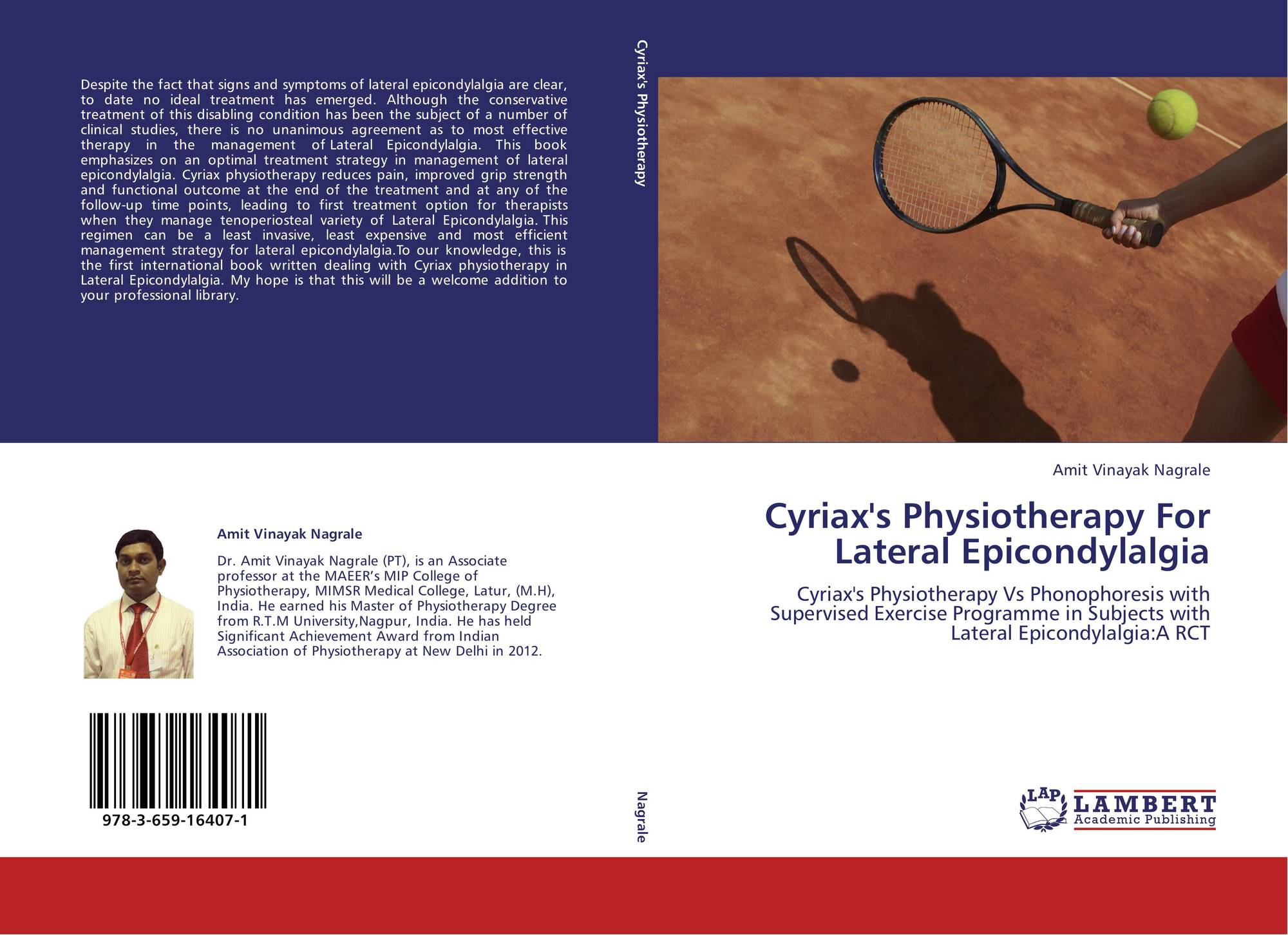 Cyriax's Physiotherapy For Lateral Epicondylalgia, 978-3-659