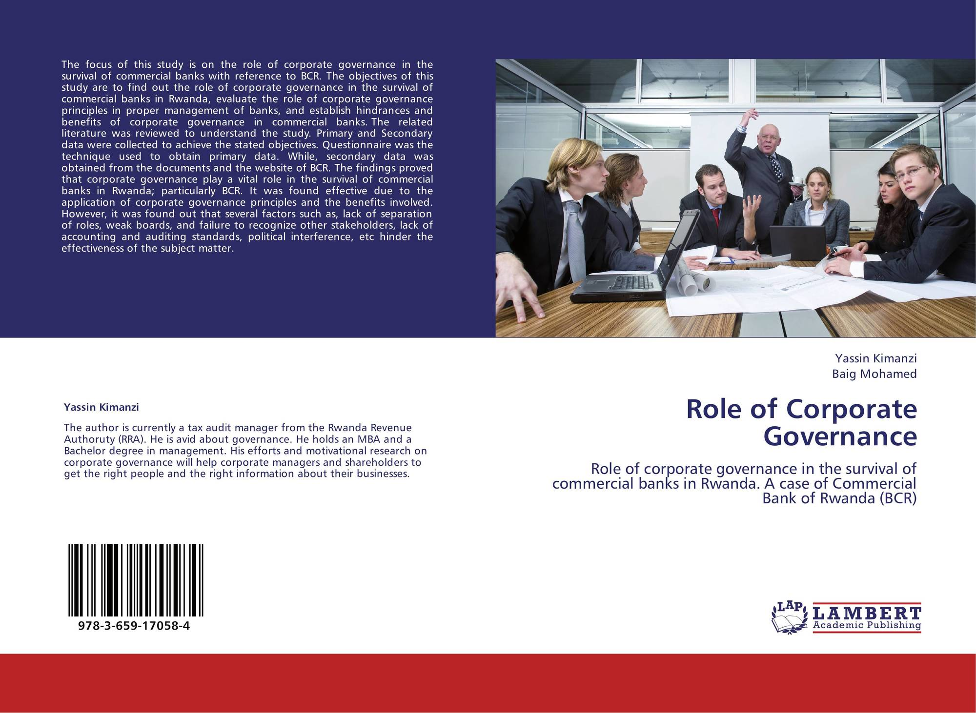 role of governance What does governance really mean when people talk about company governance they're usually talking about the role of the board of directors boards exist to ensure a company is well run, and well governed so that shareholder value can be maximised and no 'funny business' goes on.