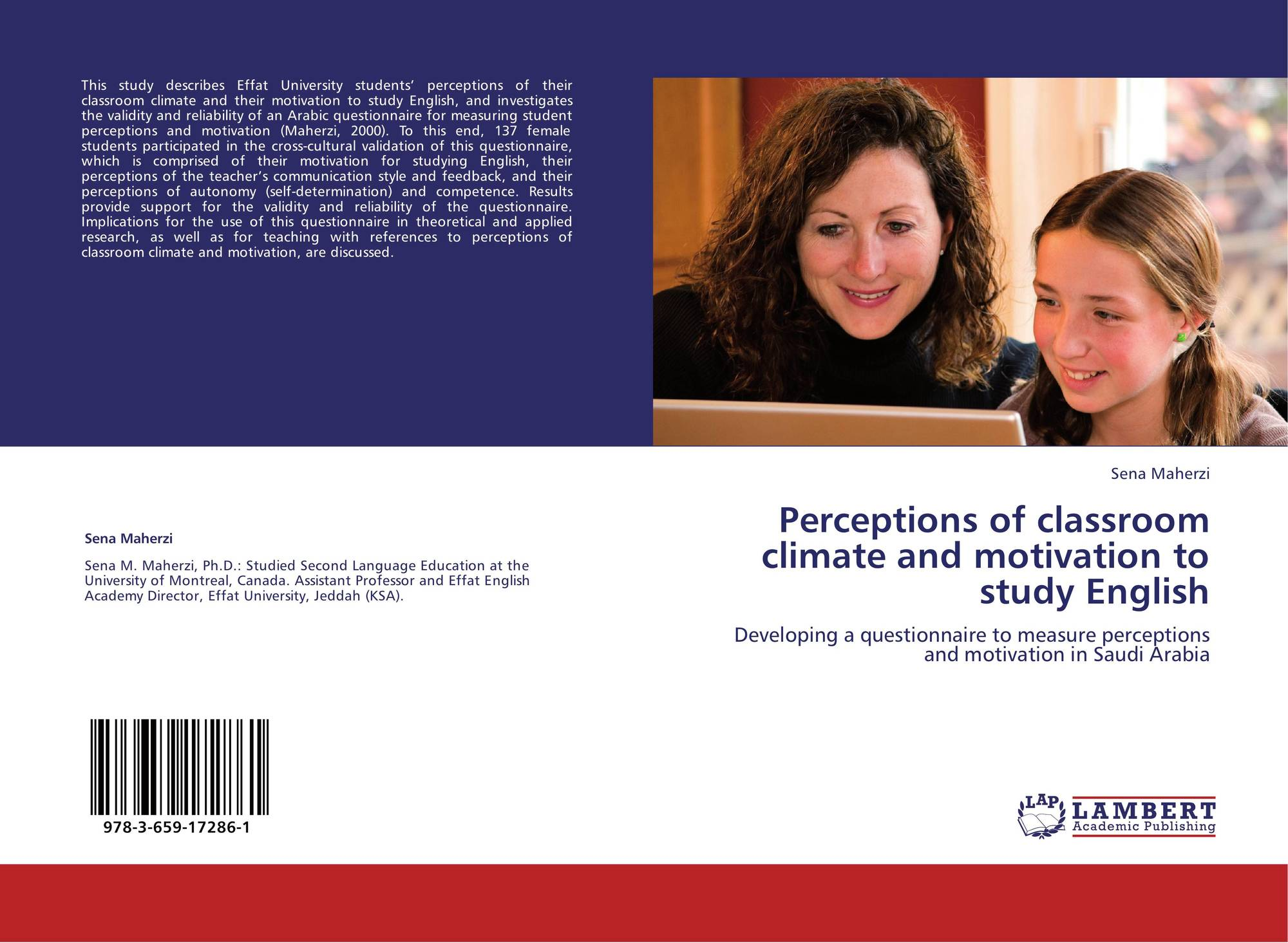 search results for motivation to become a doctor bookcover of perceptions of classroom climate and motivation to study english