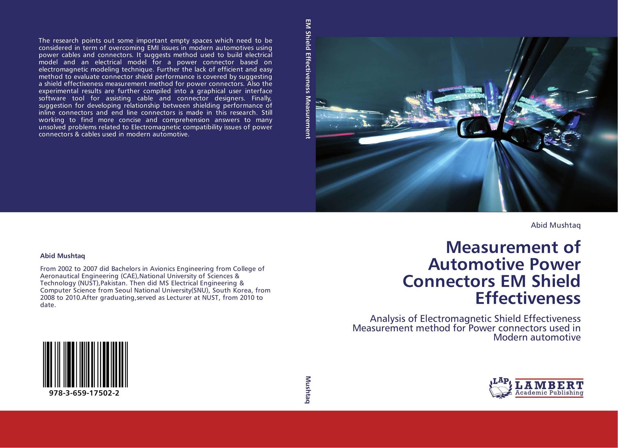Measurement Of Automotive Power Connectors Em Shield