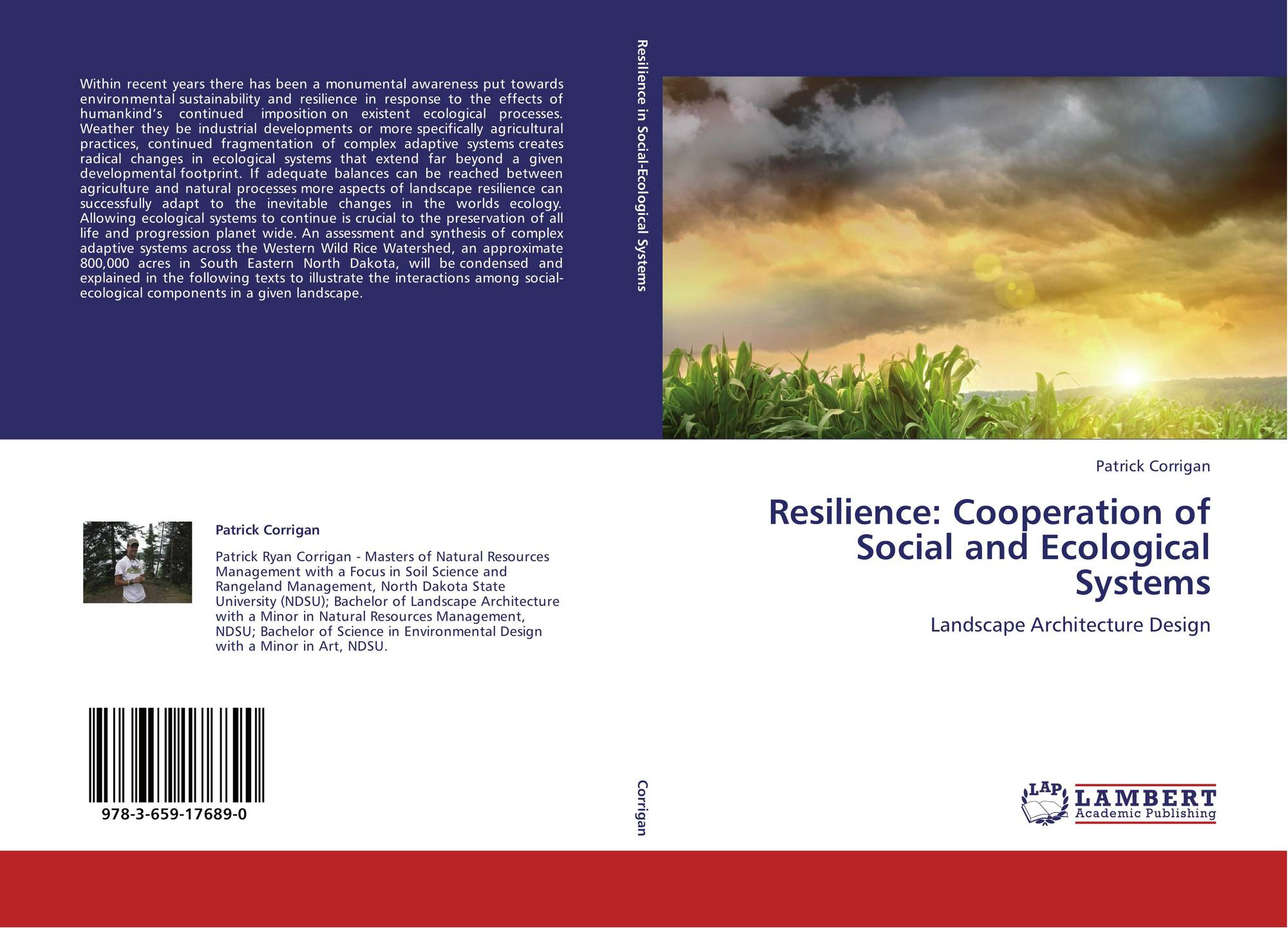resilience cooperation of social and ecological systems 978 3 659