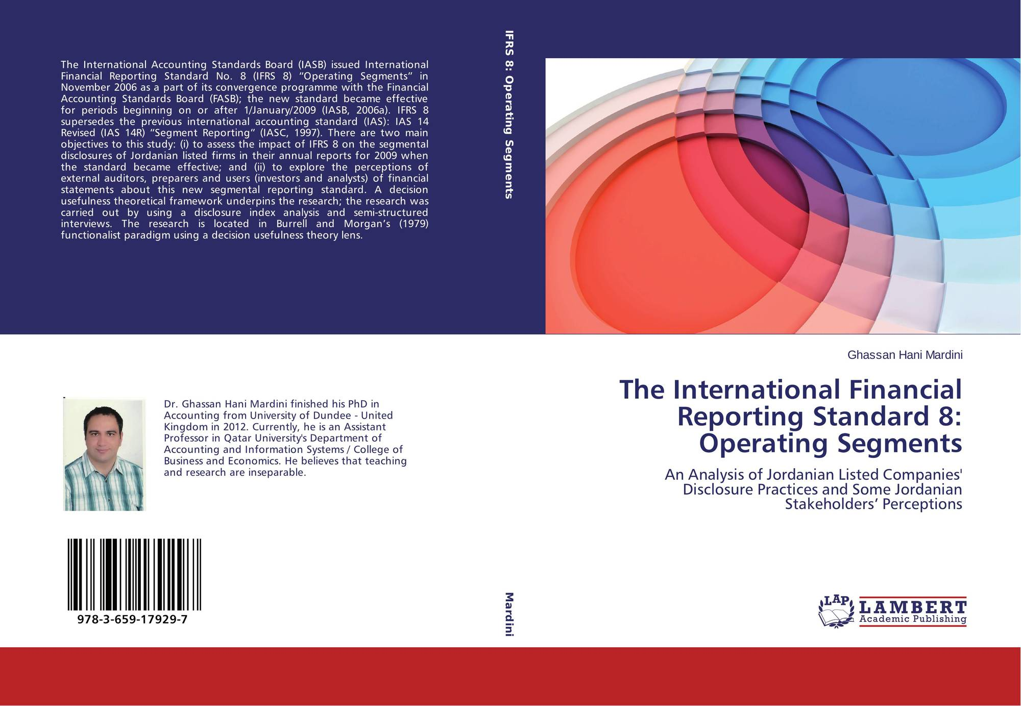 the objectives and impact of the international financial reporting standards ifrs