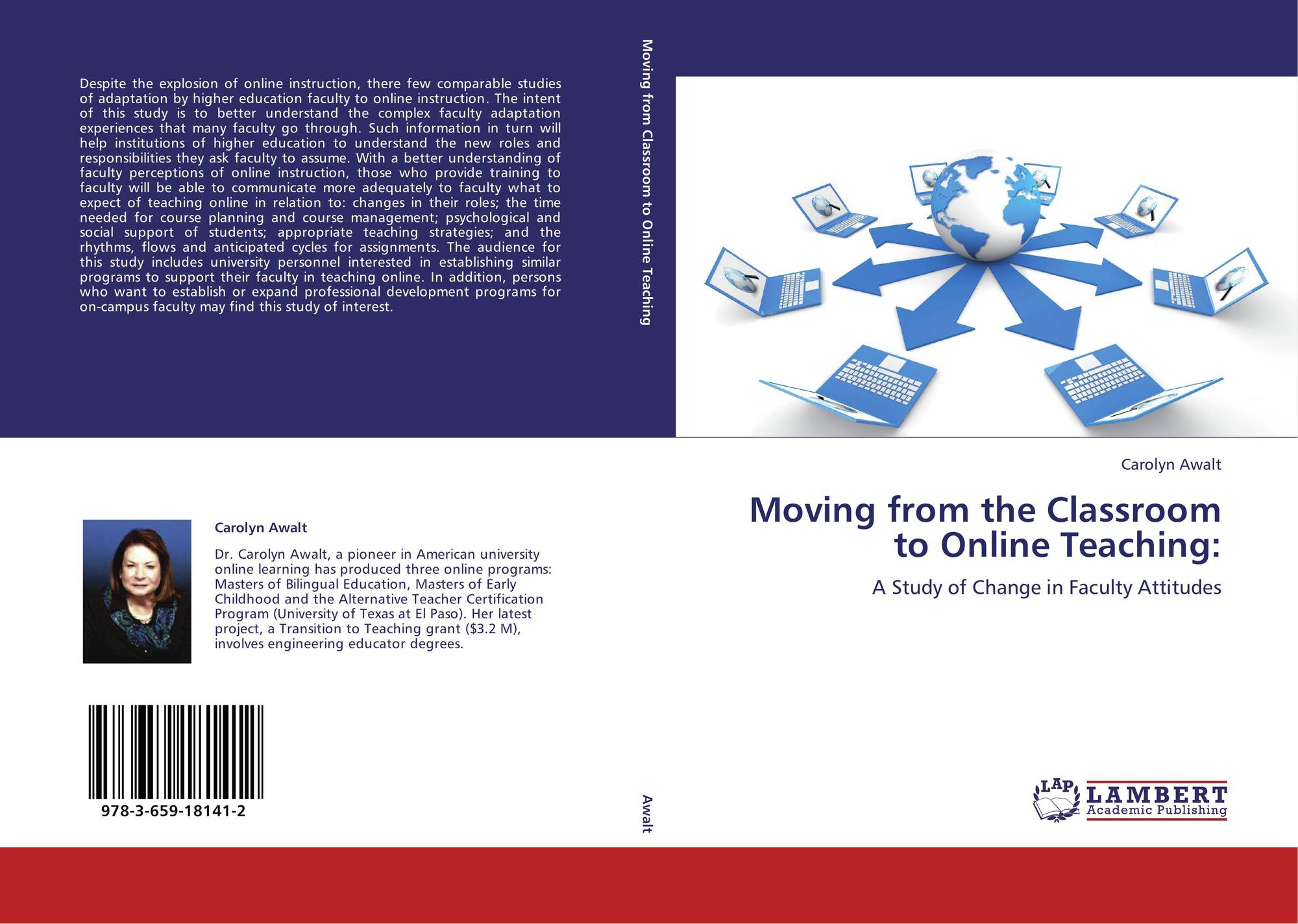 Moving From The Classroom To Online Teaching 978 3 659 18141 2
