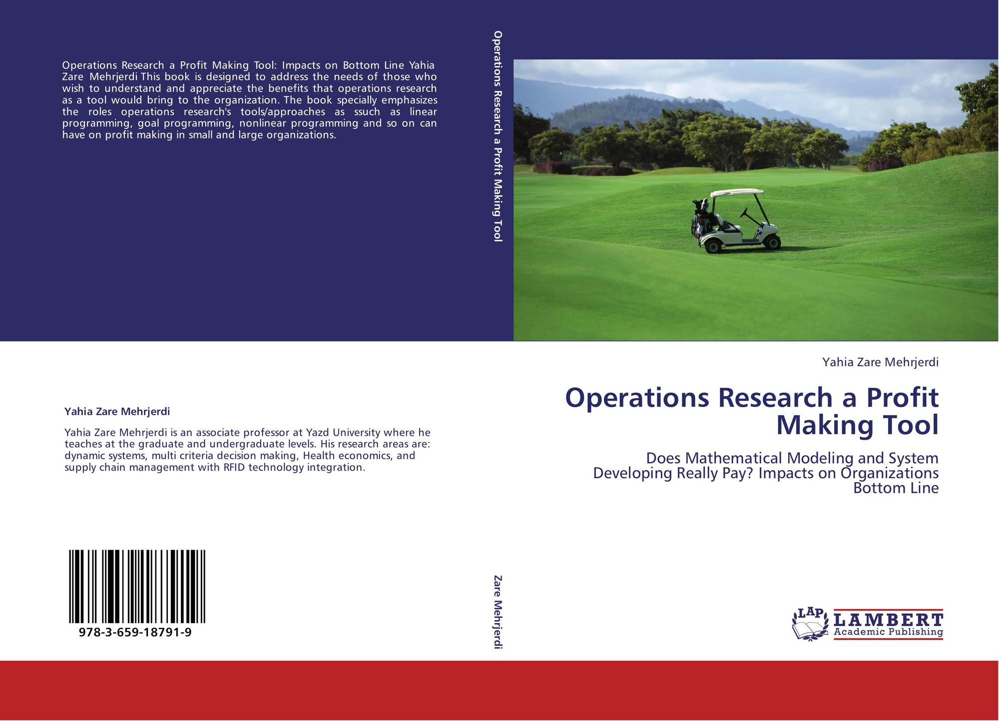 Operations Research a Profit Making Tool, 978-3-659-18791-9