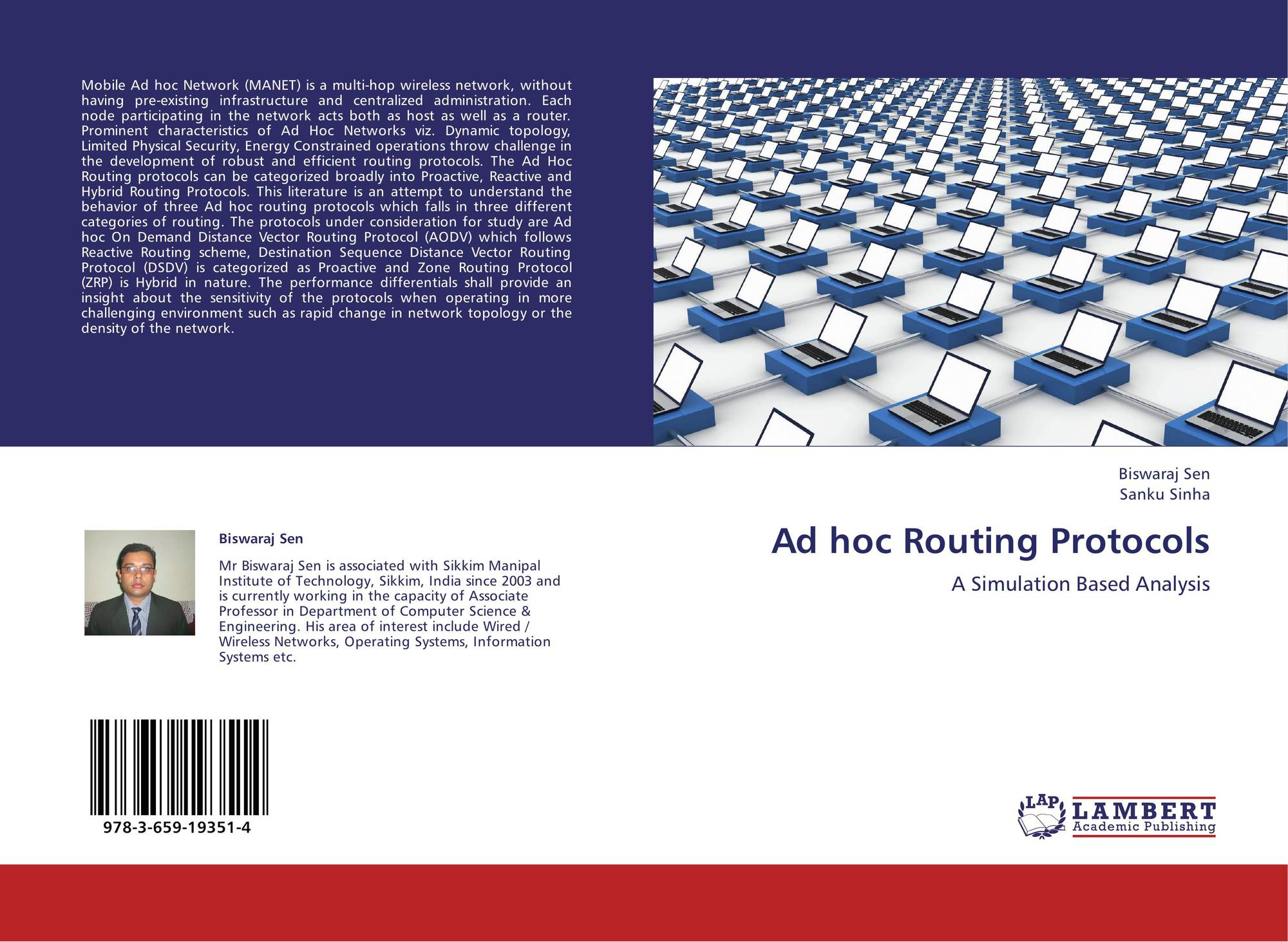ad hoc routing protocols thesis An ad hoc routing protocol is a convention, or standard, that controls how nodes decide which way to route packets between computing devices in a mobile ad hoc network.