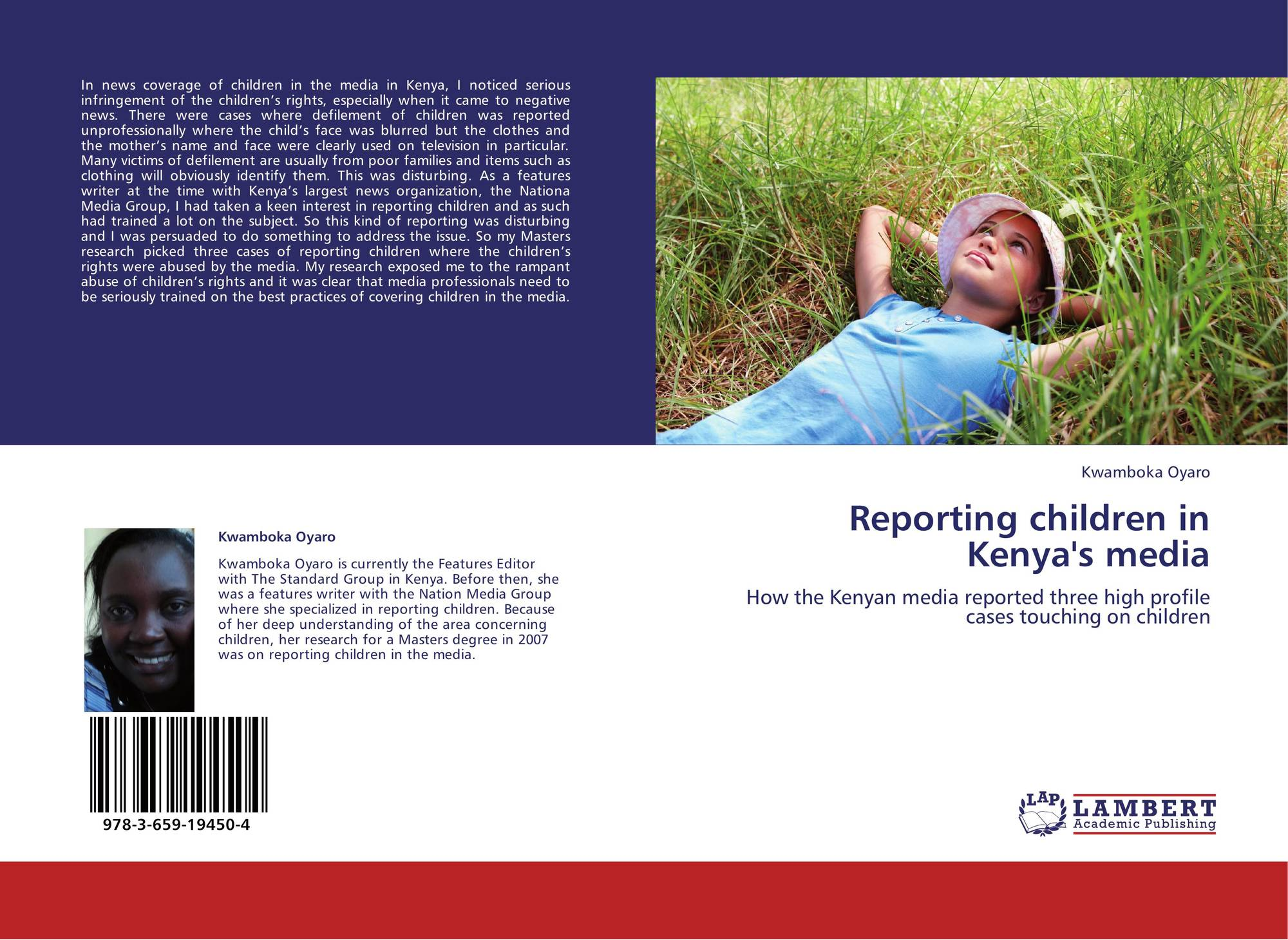 reporting on children in the media A series of reports and fact sheets on topics related to children, media role of media in childhood obesity - reviews more than 40 studies on the role of media in the nation's dramatically increasing rates of childhood obesity, pulling together research from fields such as child development, public.