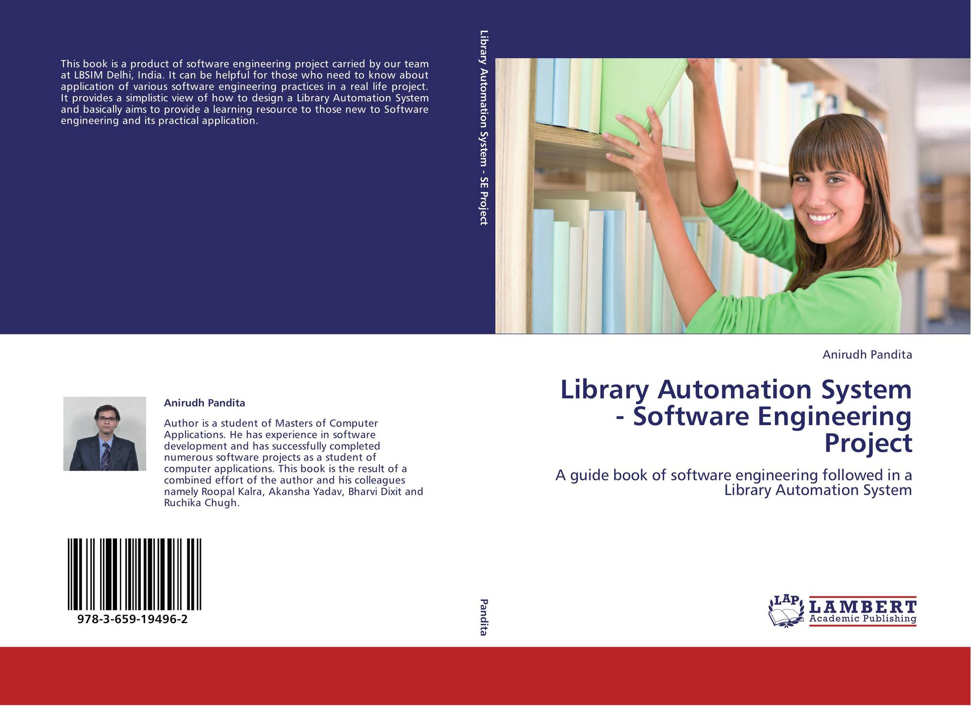 Library Automation System Software Engineering Project 978 3 659 19496 2 3659194964 9783659194962 By Anirudh Pandita