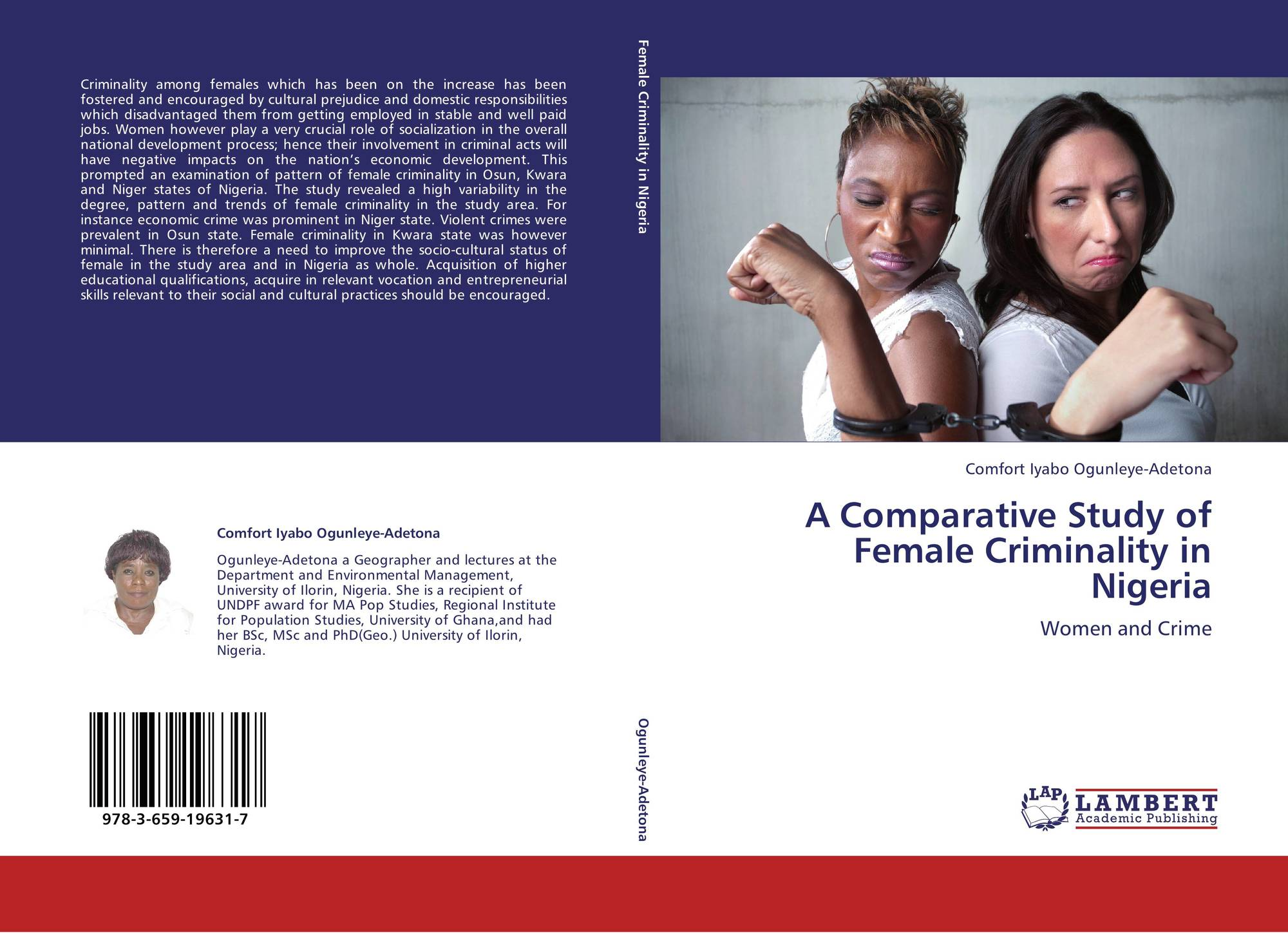 the female criminality Female criminality is both inhibited and molded by two powerful focal concerns ascribed to women: (1) role obligations (daughter, wife, mother) and the presumption of female nurturance (2) expectations of female beauty and sexual virtue.