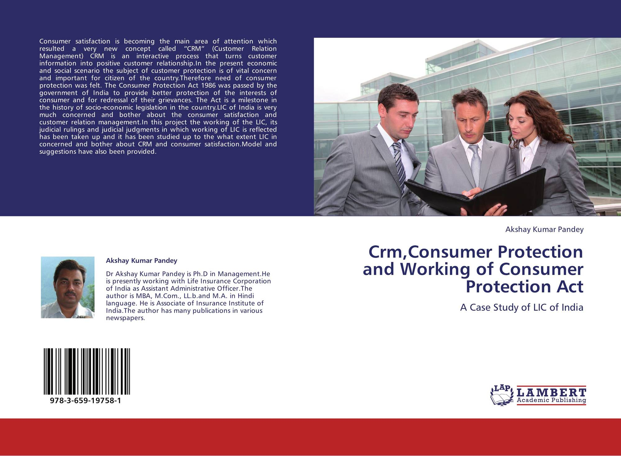 Crm,Consumer Protection and Working of Consumer Protection
