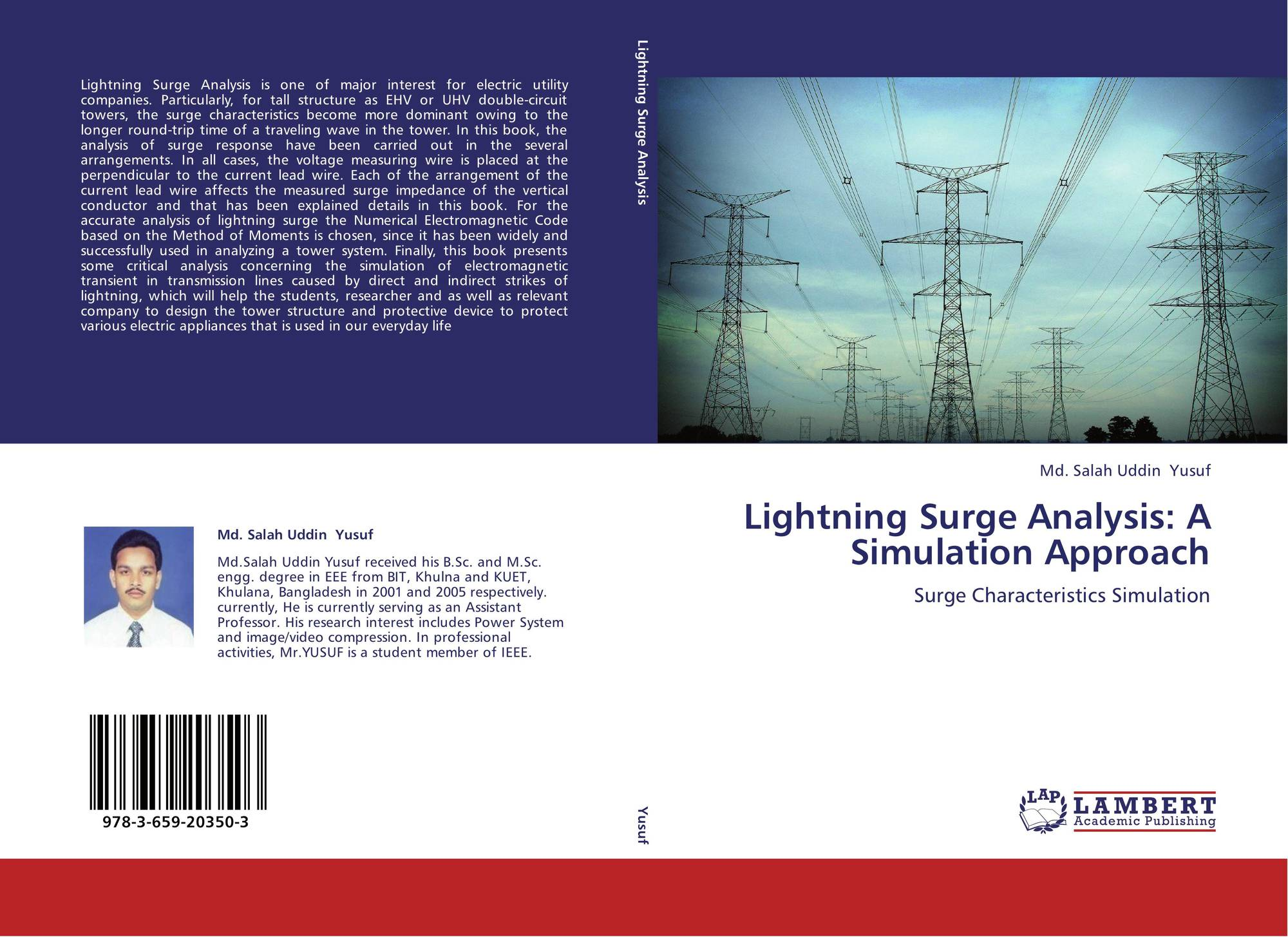 Lightning Surge Analysis: A Simulation Approach, 978-3-659
