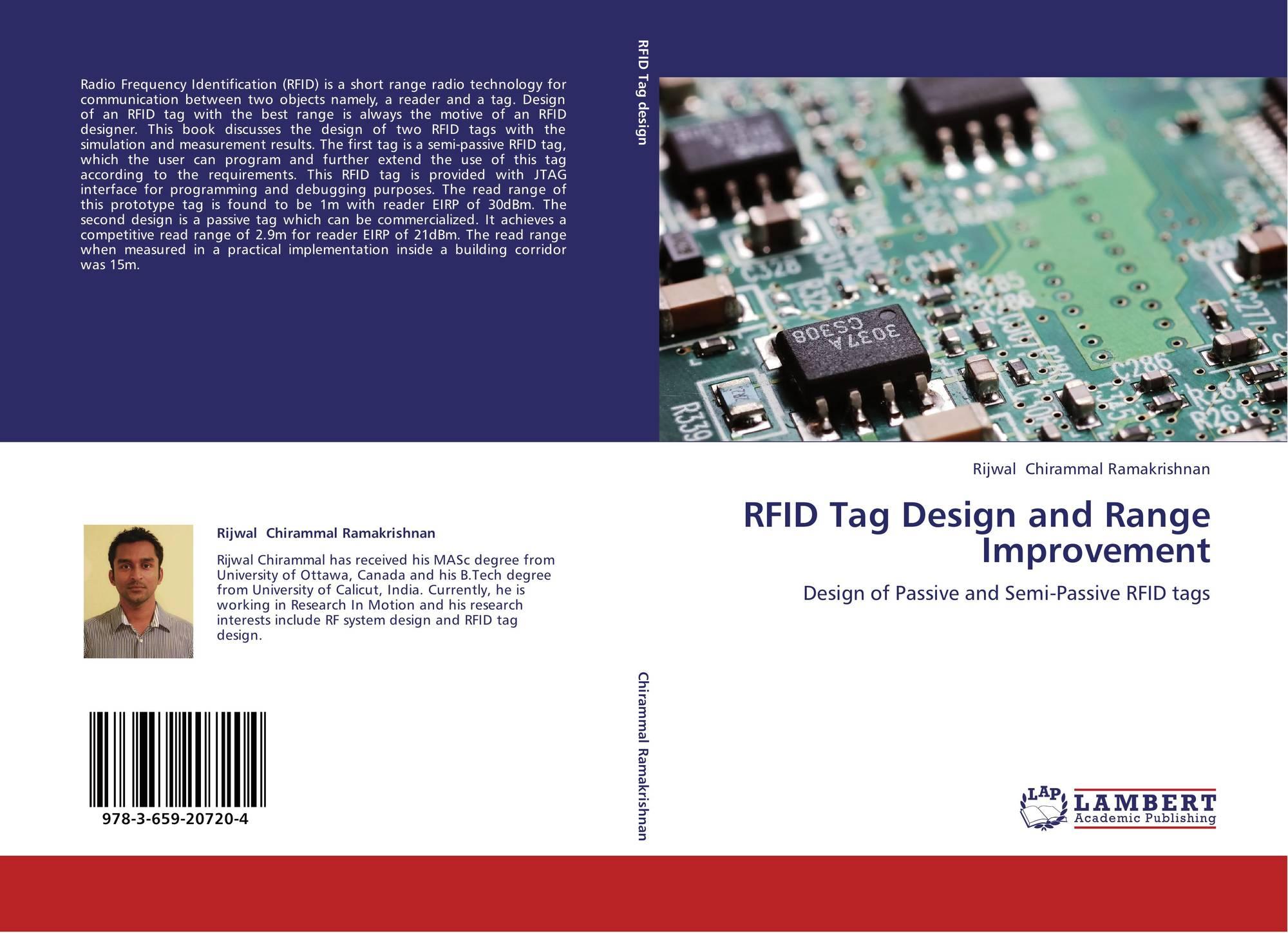 RFID Tag Design and Range Improvement, 978-3-659-20720-4