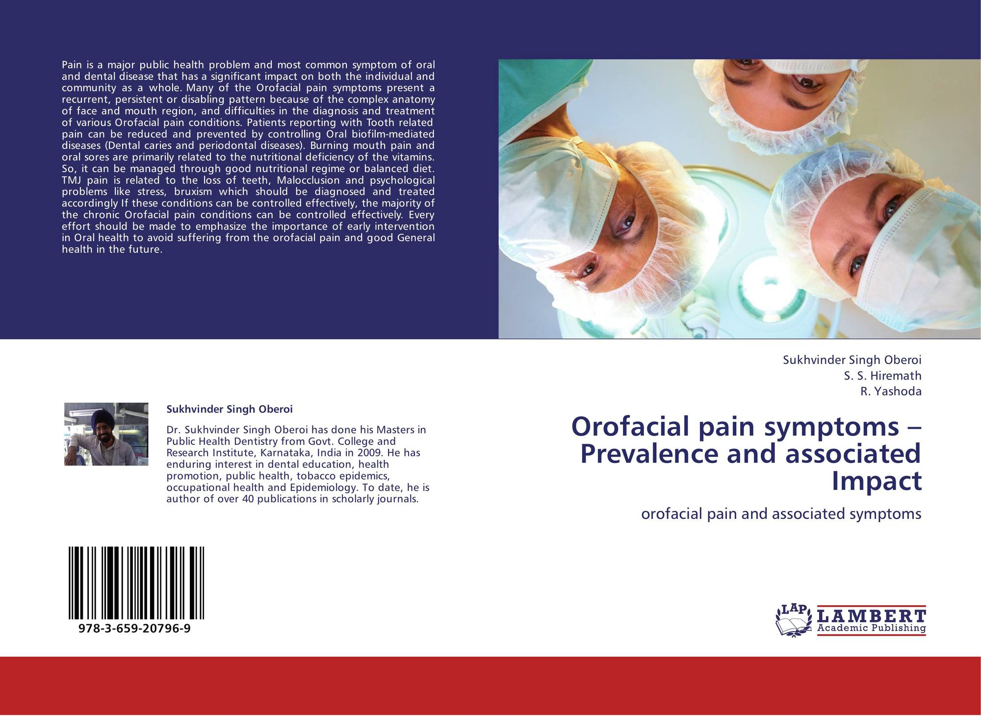 Orofacial pain symptoms – Prevalence and associated Impact