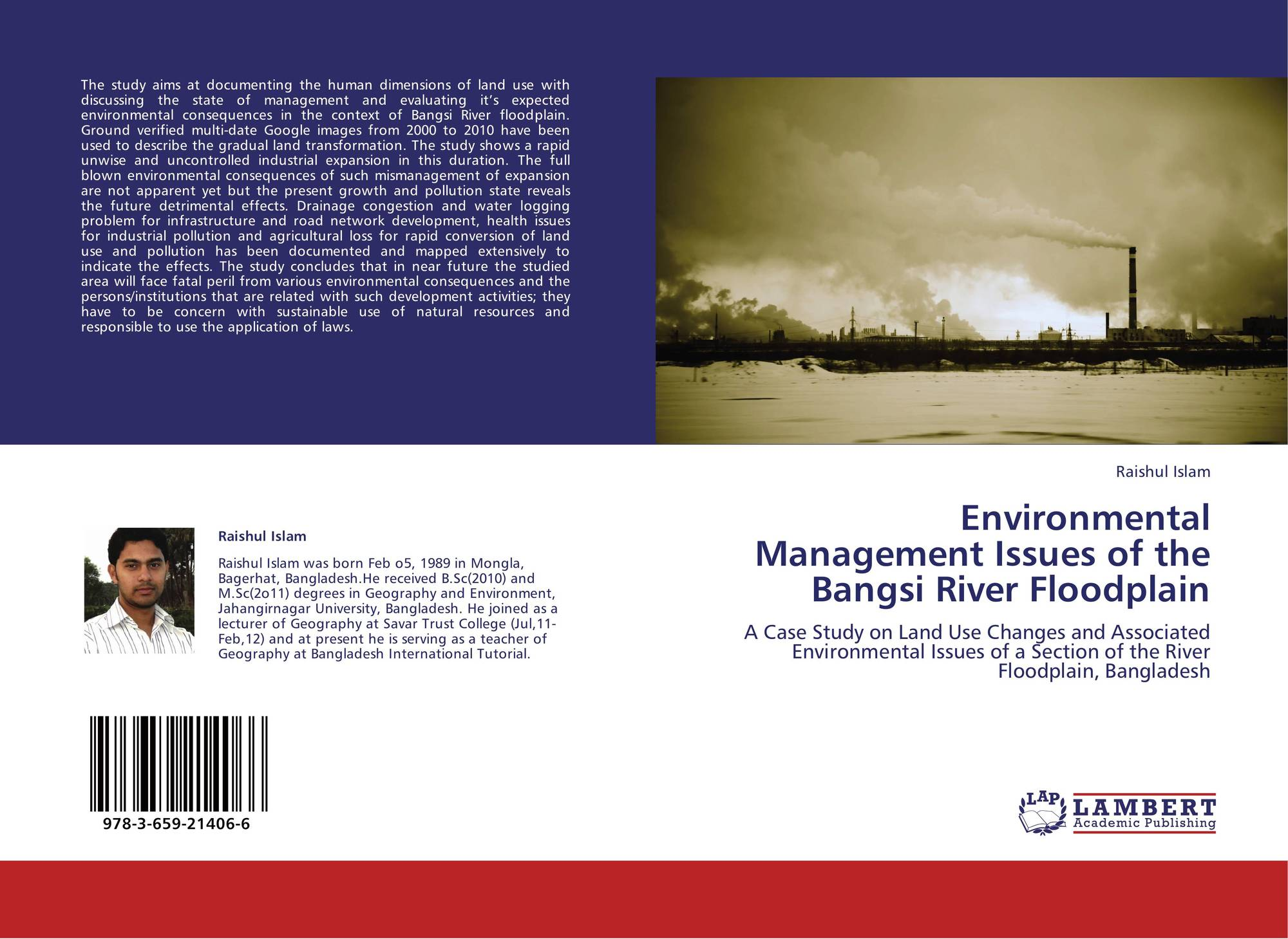 study of environmental issues associated with Environmental issues and its impacts associated with the textile processing units in tiruppur, tamilnadu jayanth sarathi n, karthik r, logesh s, srinivas rao k, vijayanand k.