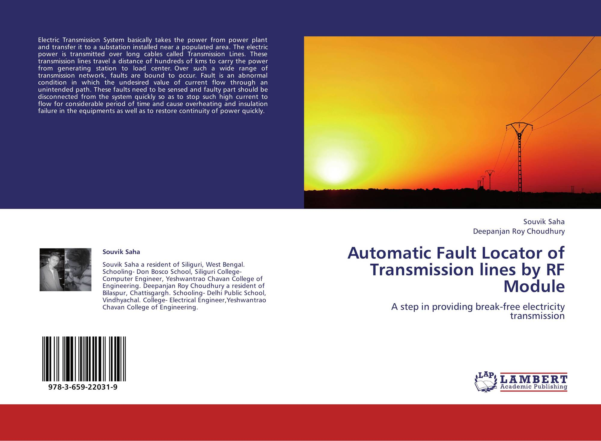 Automatic Fault Locator of Transmission lines by RF Module