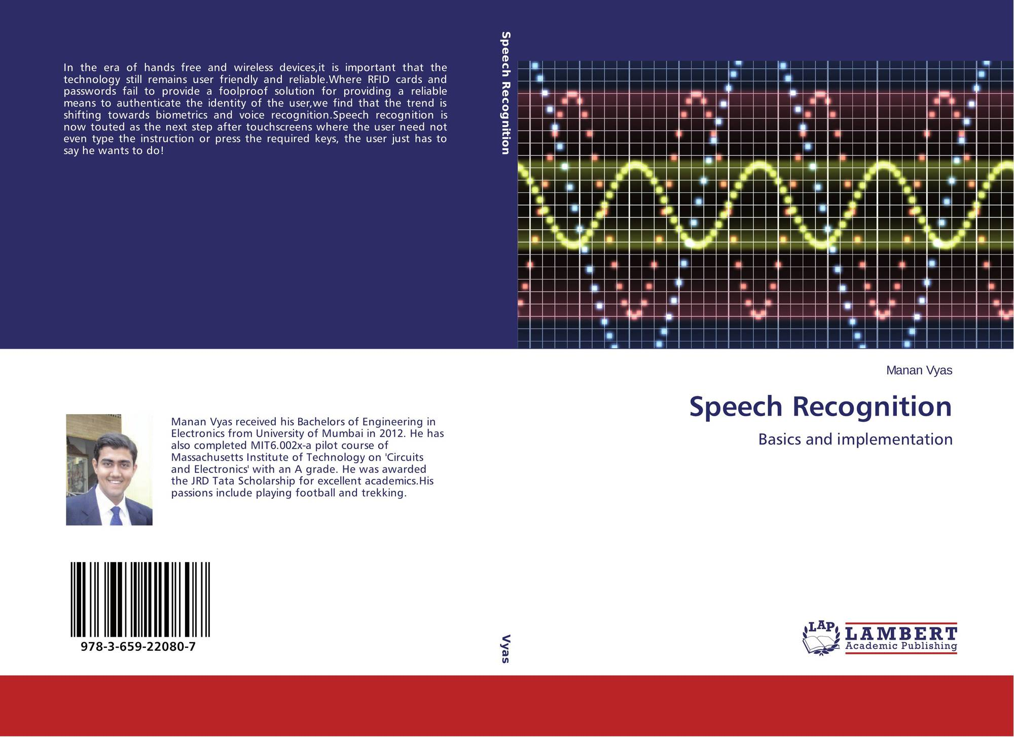Speech Recognition, 978-3-659-22080-7, 3659220809