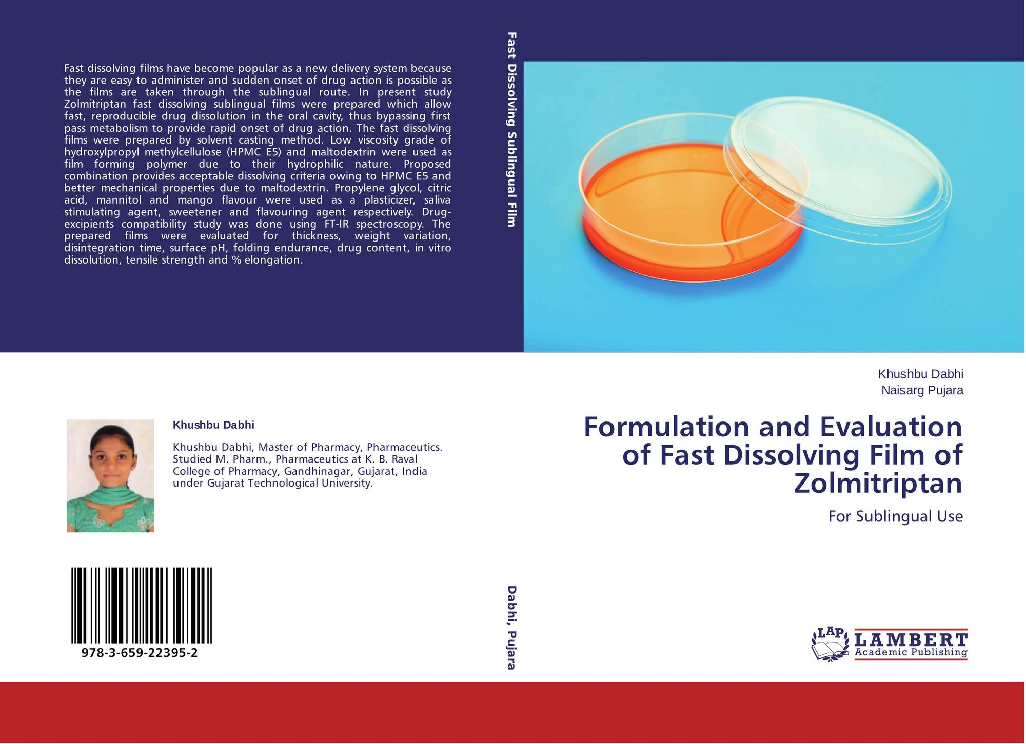 thesis on fast dissolving films
