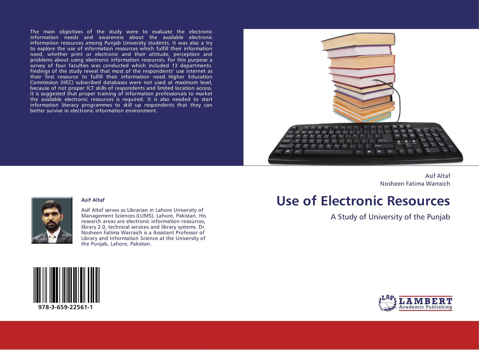 academic performance and use of electronic Use of electronic information resources and academic impact of use of e-resources on academic performance of the and use of electronic information.
