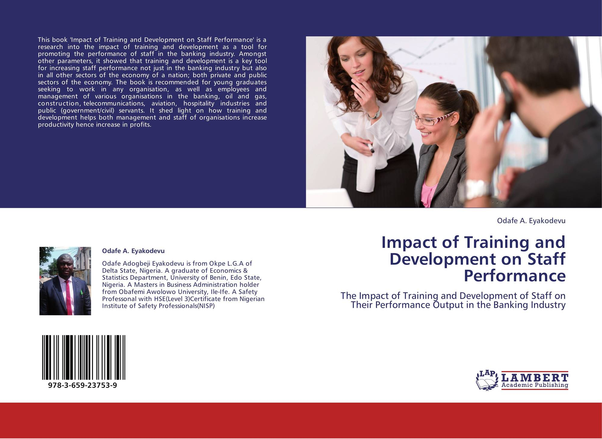 thesis on impact of training and development on employees performance In simple words it means that there is a relatively smaller impact of training and development programs on the performance of married employees 38 235 hoc: there is no impact of training and development programs on the performance of married employees.