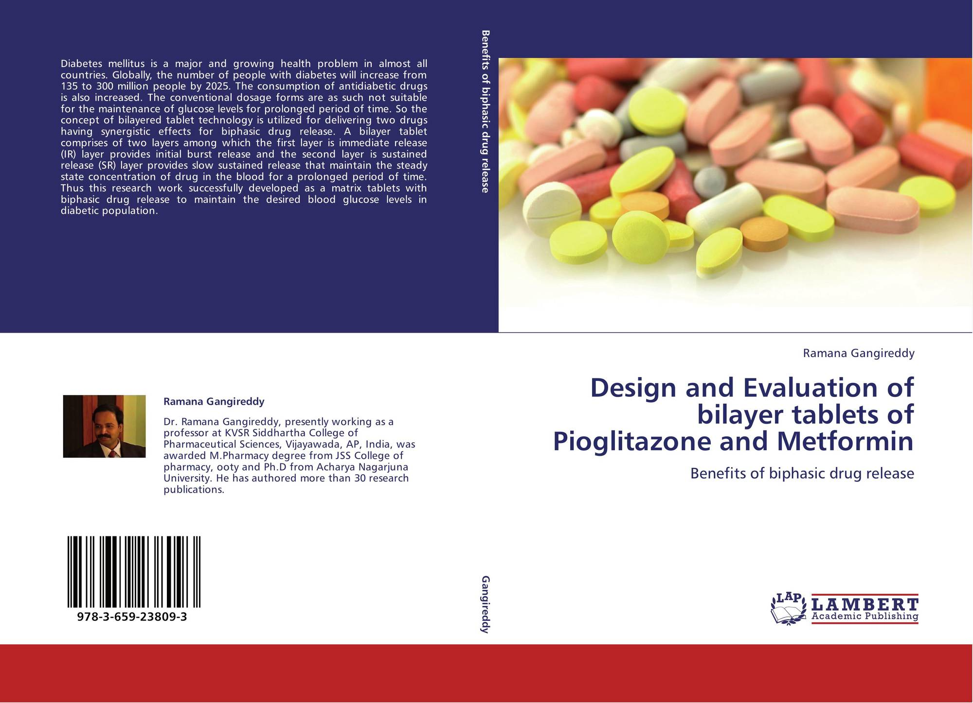 Design And Evaluation Of Bilayer Tablets Of Pioglitazone And