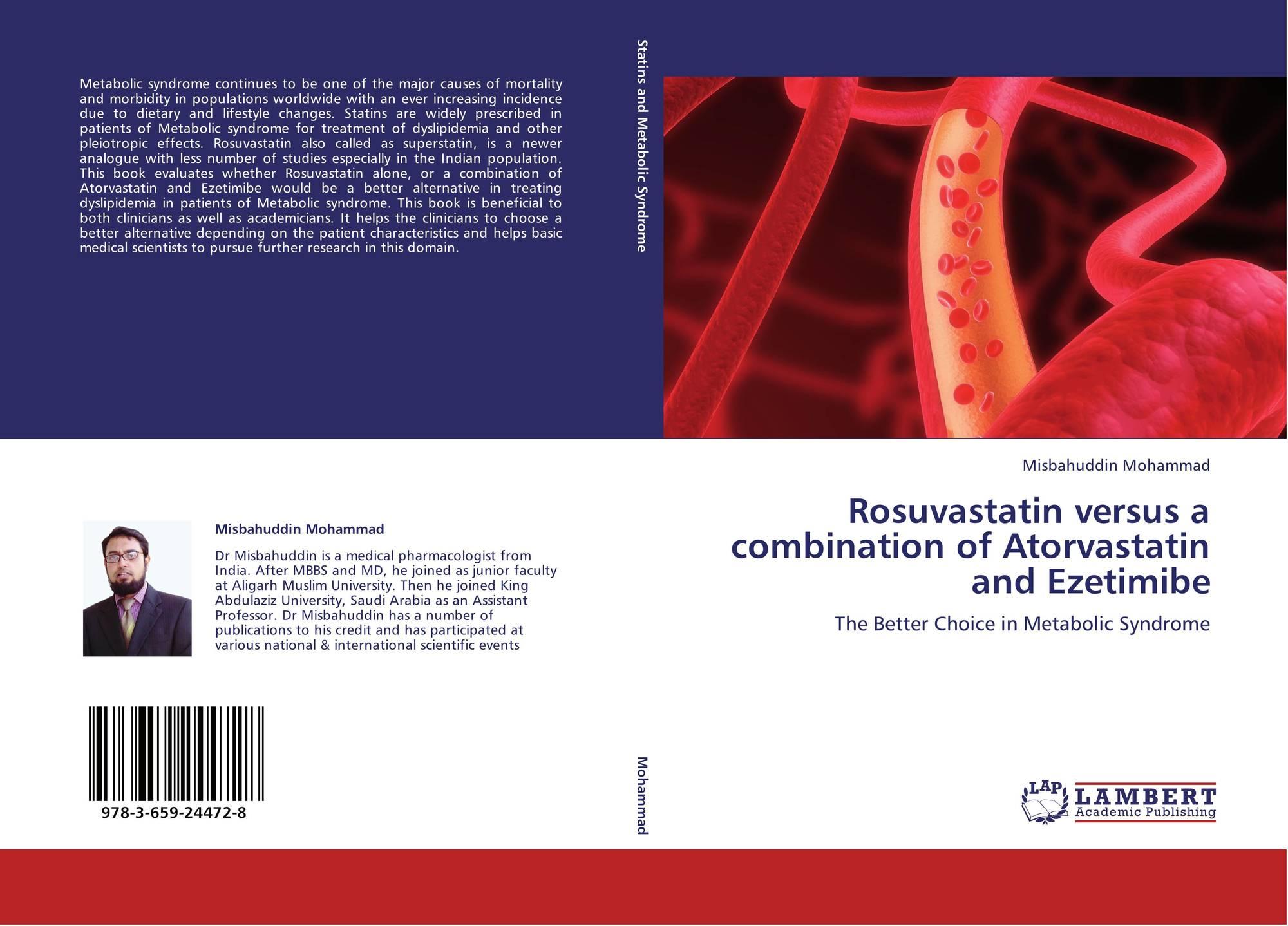 Rosuvastatin Vs Atorvastatin Clinical Trials