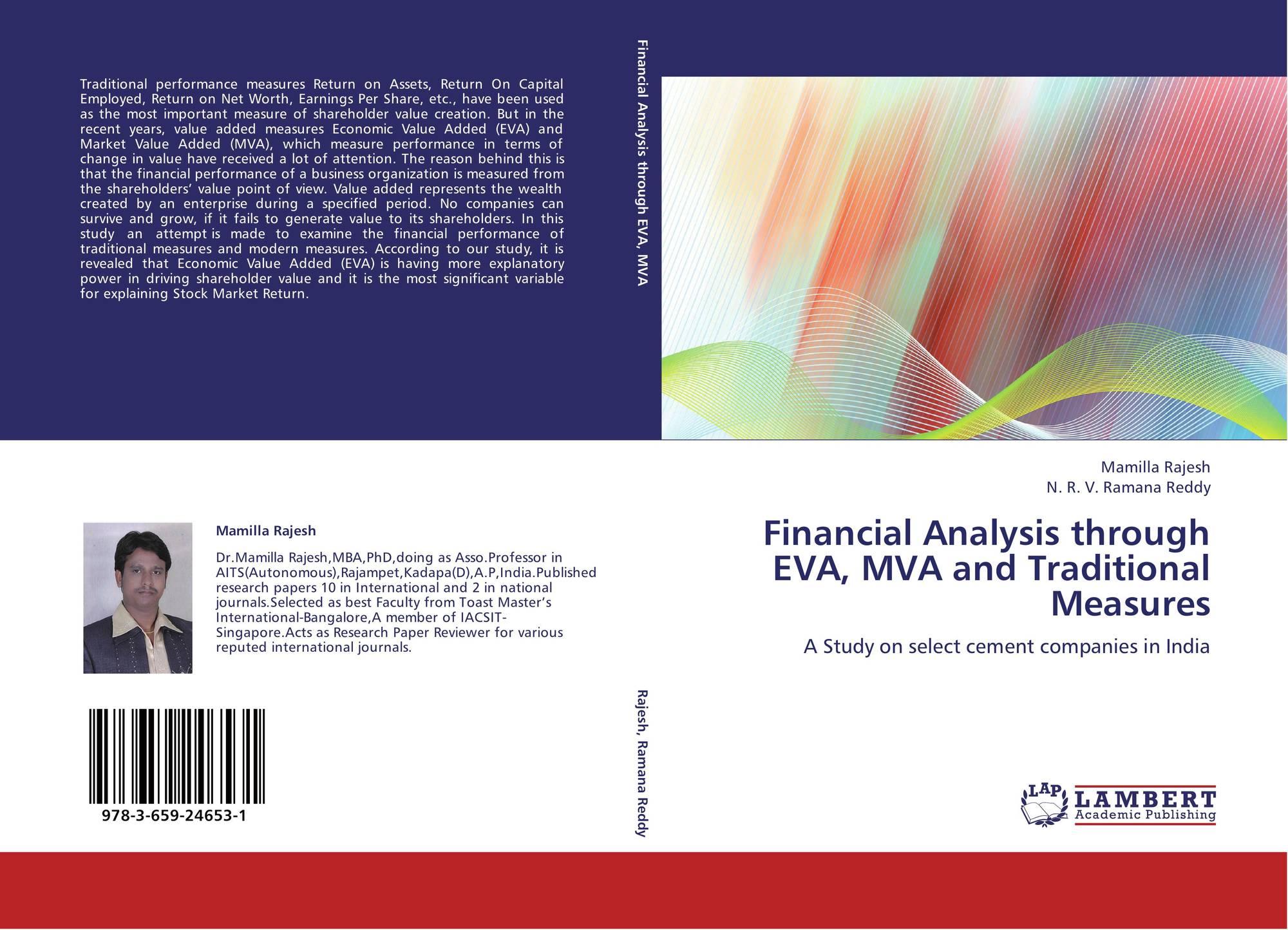 explanations of eva mva and npv essay