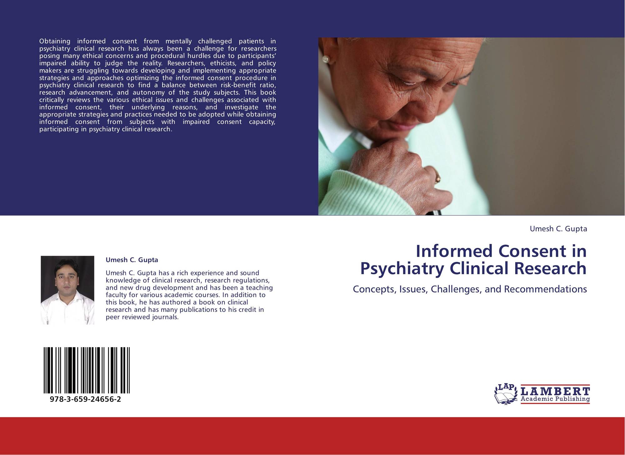 Informed Consent in Psychiatry Clinical Research, 978-3-659-24656-2