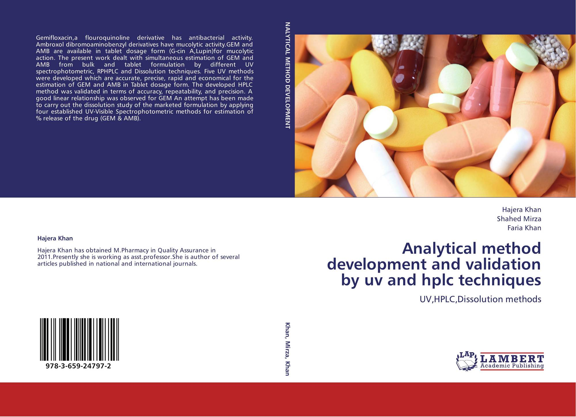 Hptlc Thesis - Development and Validation of HPLC Methods