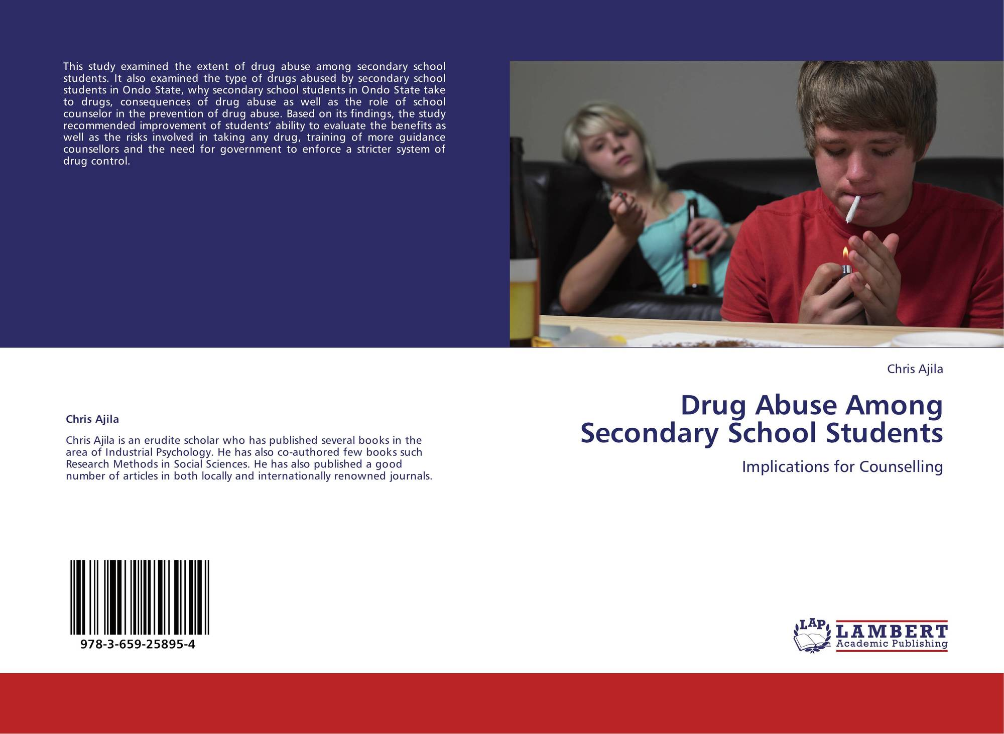 Drug Abuse Among Secondary School Students, 978-3-659-258...