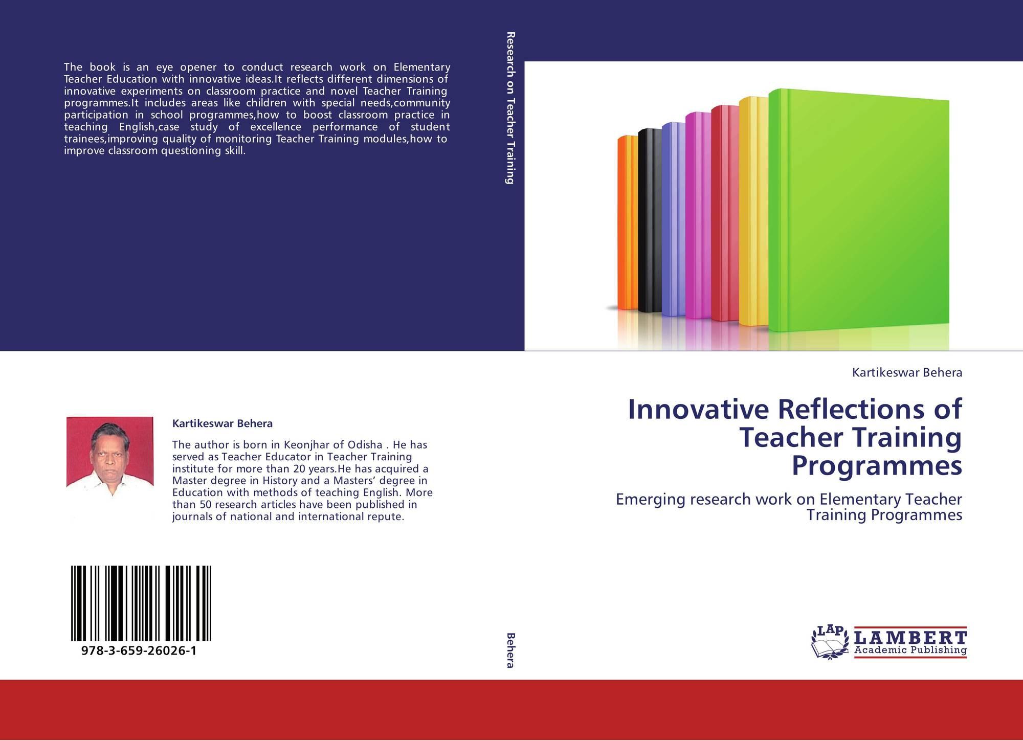 Innovative Classroom Teaching Practice ~ Innovative reflections of teacher training programmes