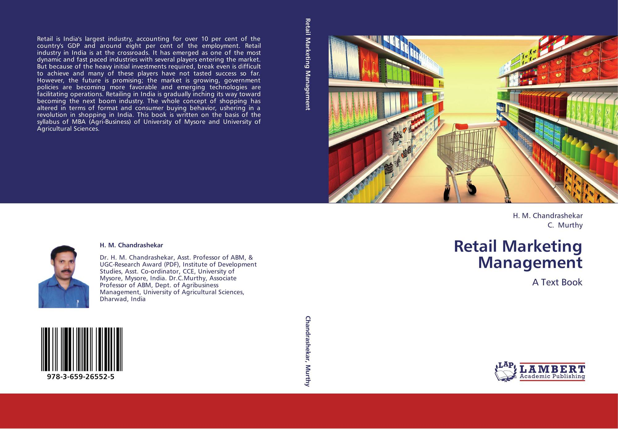 marketing and retail book industry