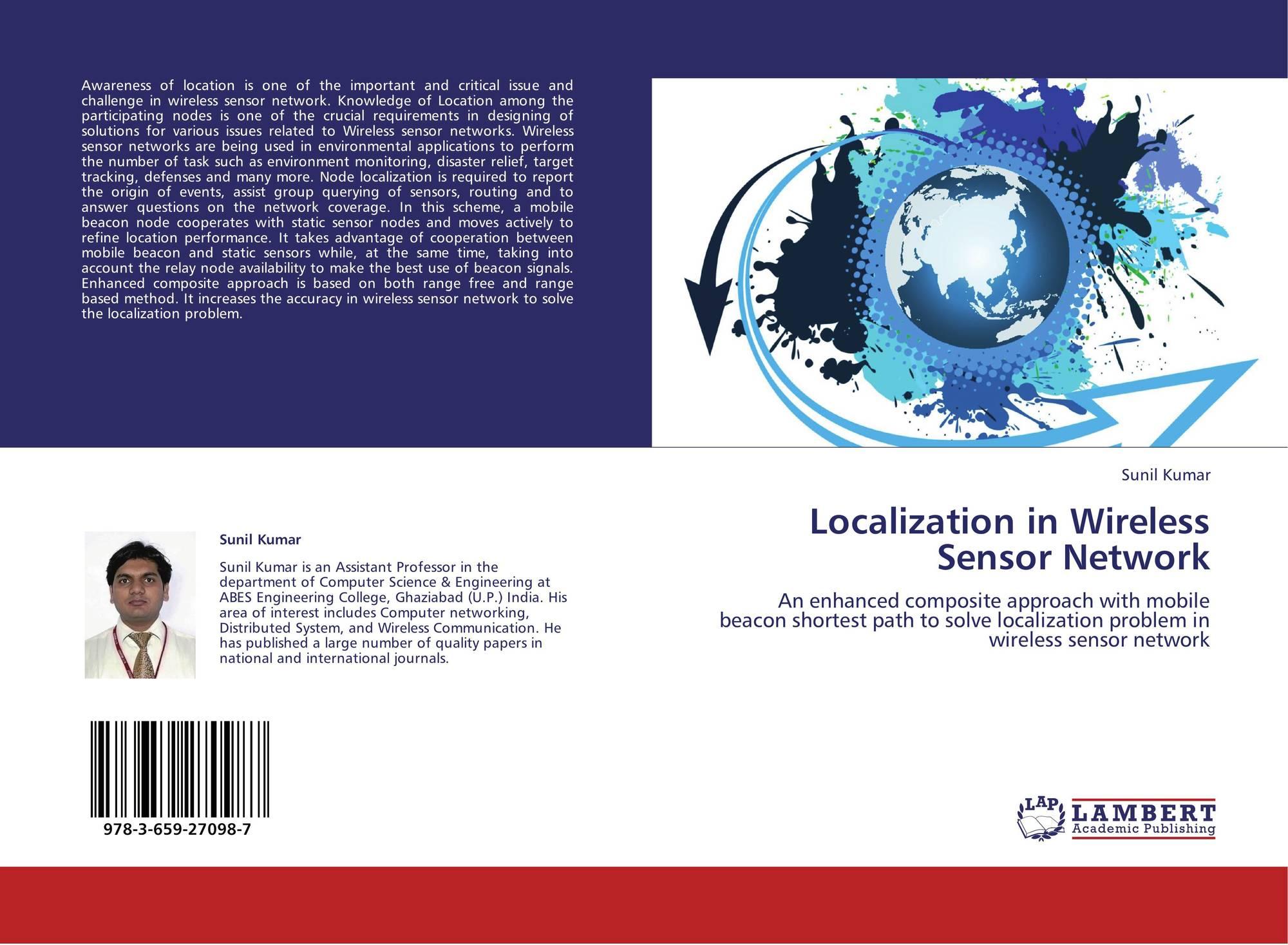 Localization in wireless sensor network 978 3 659 27098 7 for Localisation wifi
